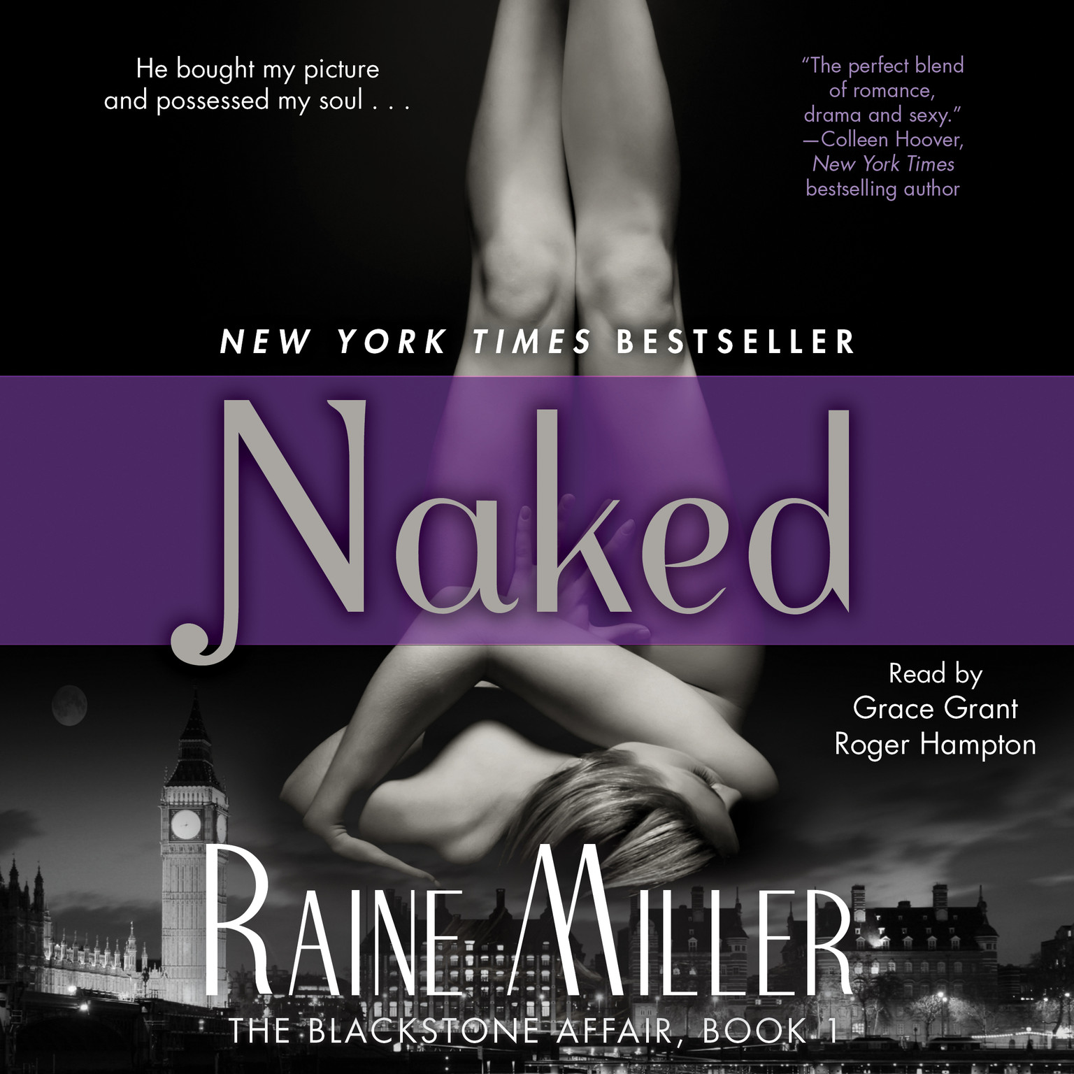 Printable Naked: The Blackstone Affair, Part 1 Audiobook Cover Art