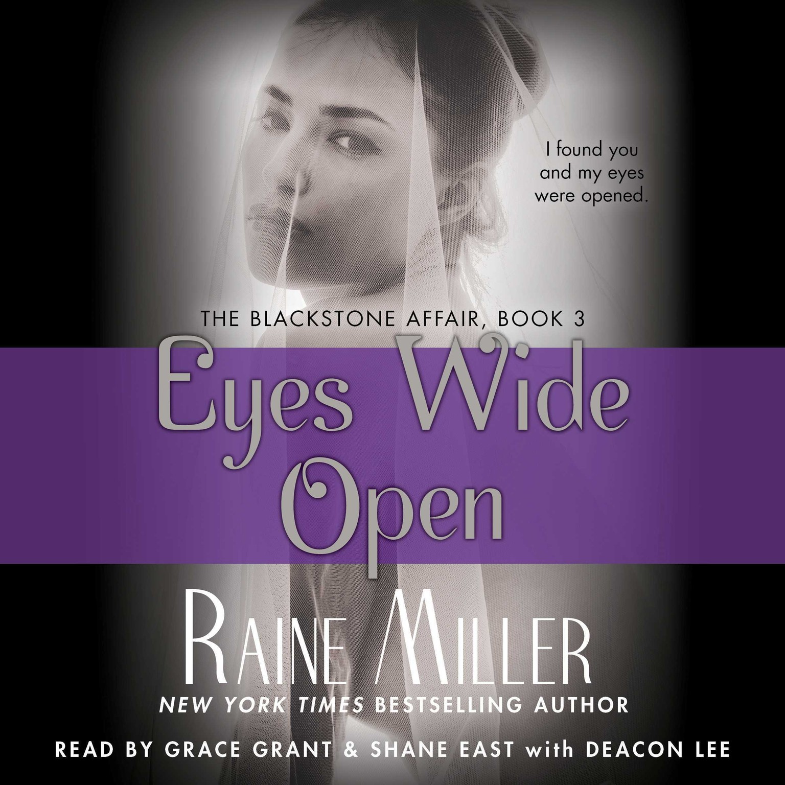 Printable Eyes Wide Open: The Blackstone Affair, Book 3 Audiobook Cover Art