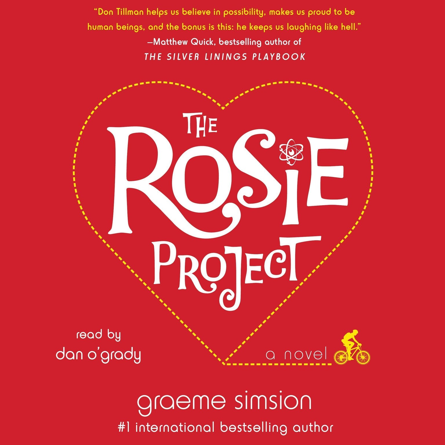 Printable The Rosie Project: A Novel Audiobook Cover Art