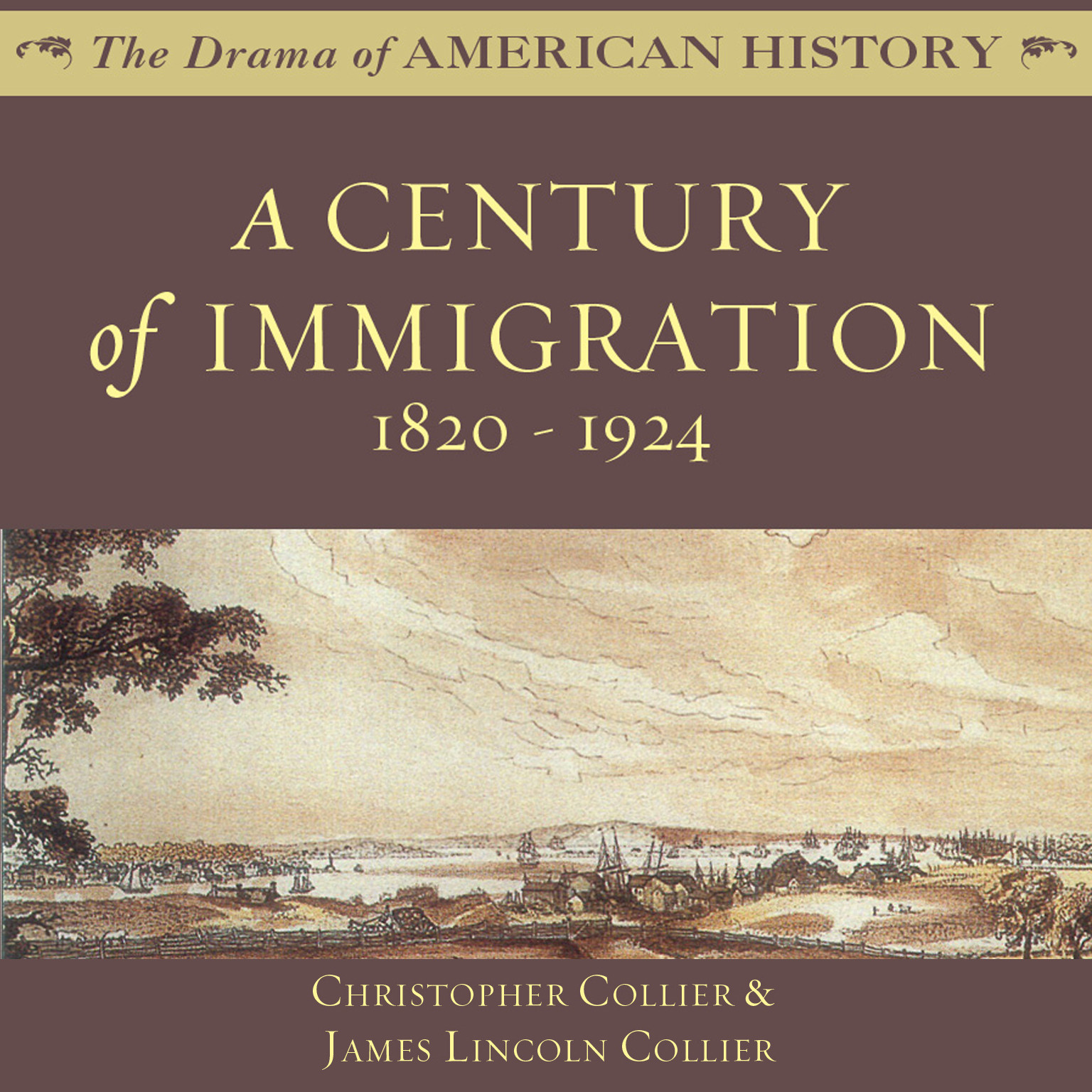 Printable A Century of Immigration: 1820–1924 Audiobook Cover Art