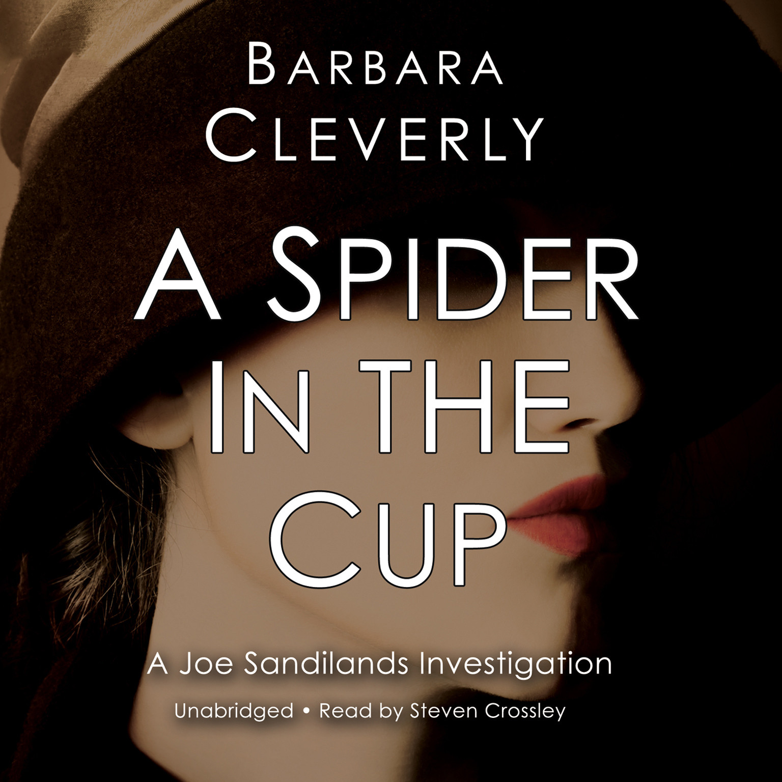 Printable A Spider in the Cup Audiobook Cover Art