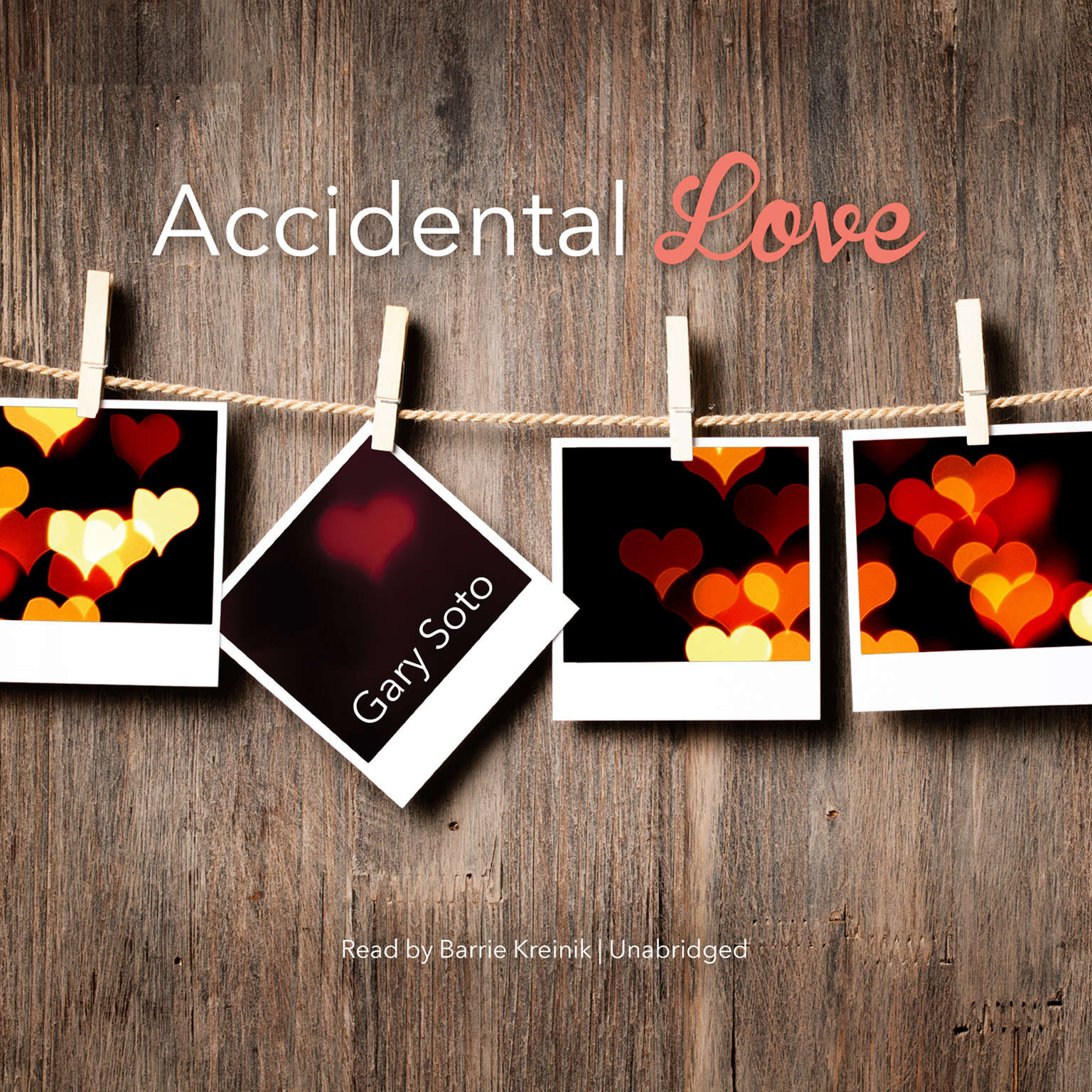 Printable Accidental Love Audiobook Cover Art