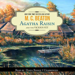 Agatha Raisin and the Vicious Vet Audiobook, by M. C. Beaton