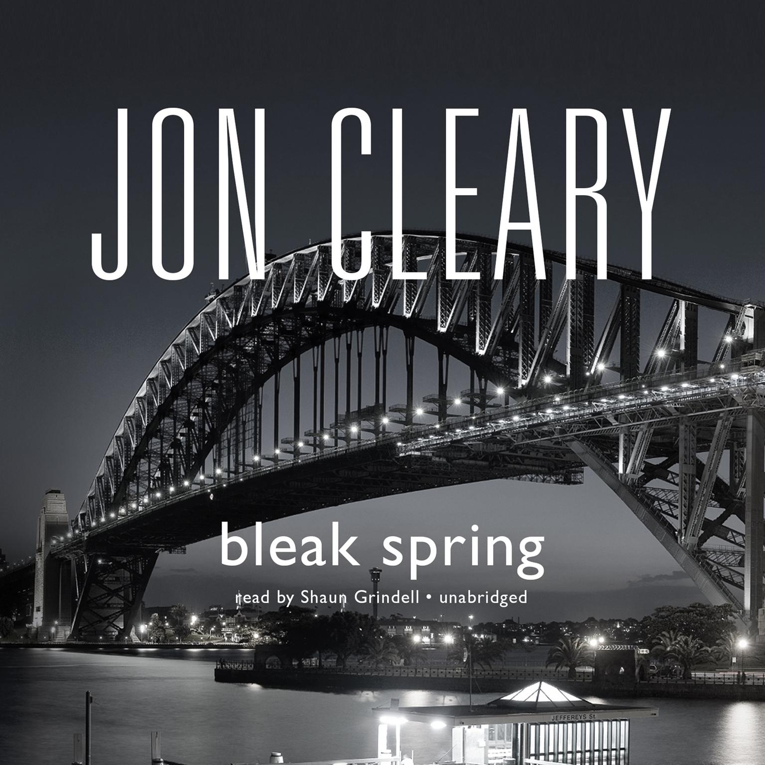 Printable Bleak Spring Audiobook Cover Art