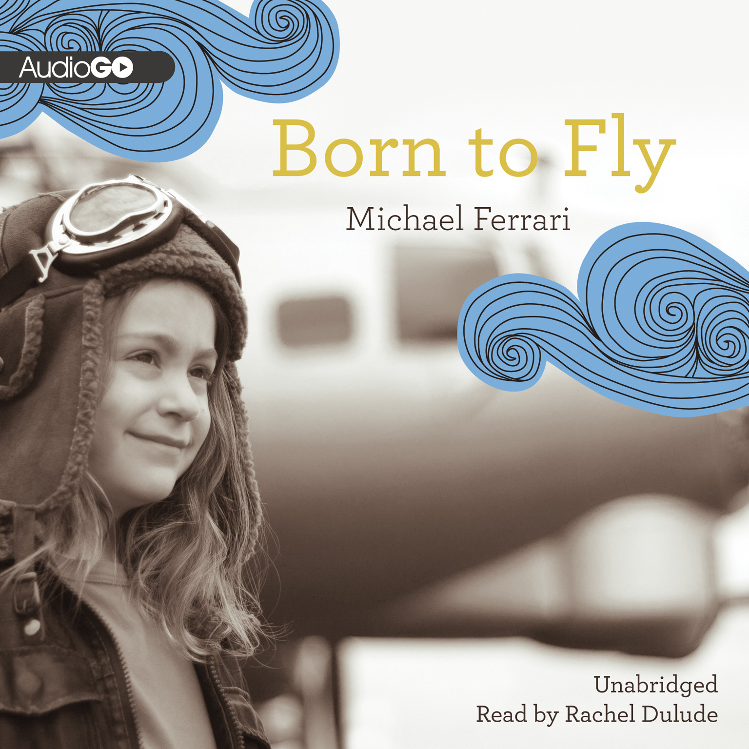 Printable Born to Fly Audiobook Cover Art