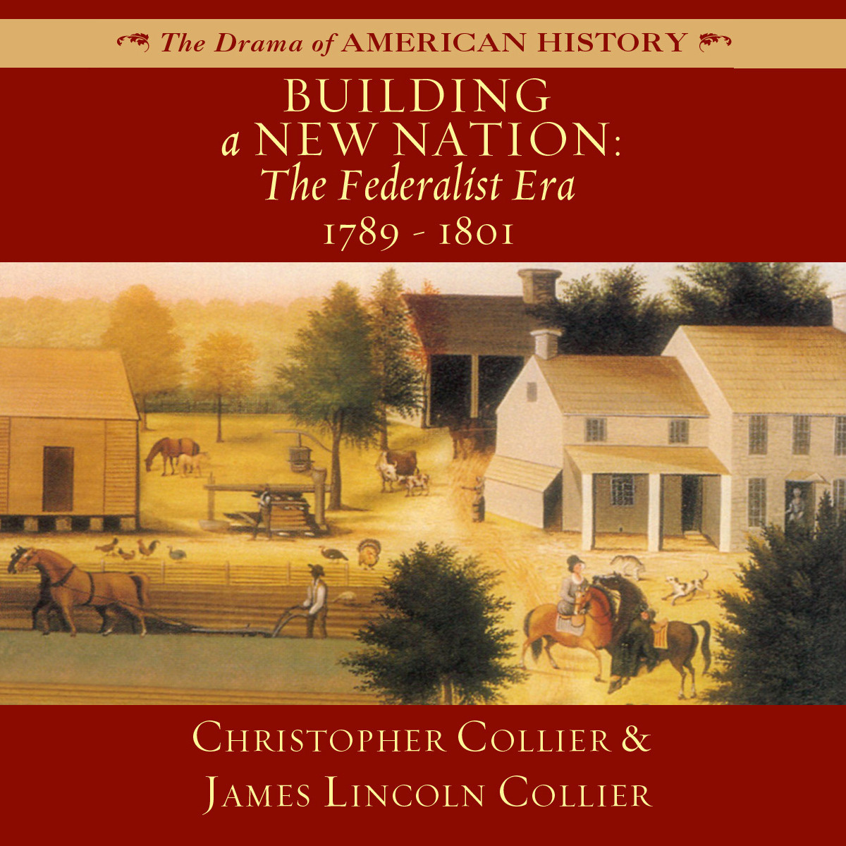 Printable Building a New Nation: The Federalist Era, 1789–1801 Audiobook Cover Art