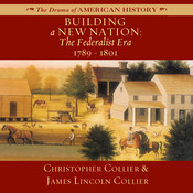 Building a New Nation Audiobook, by Christopher Collier, James Lincoln Collier