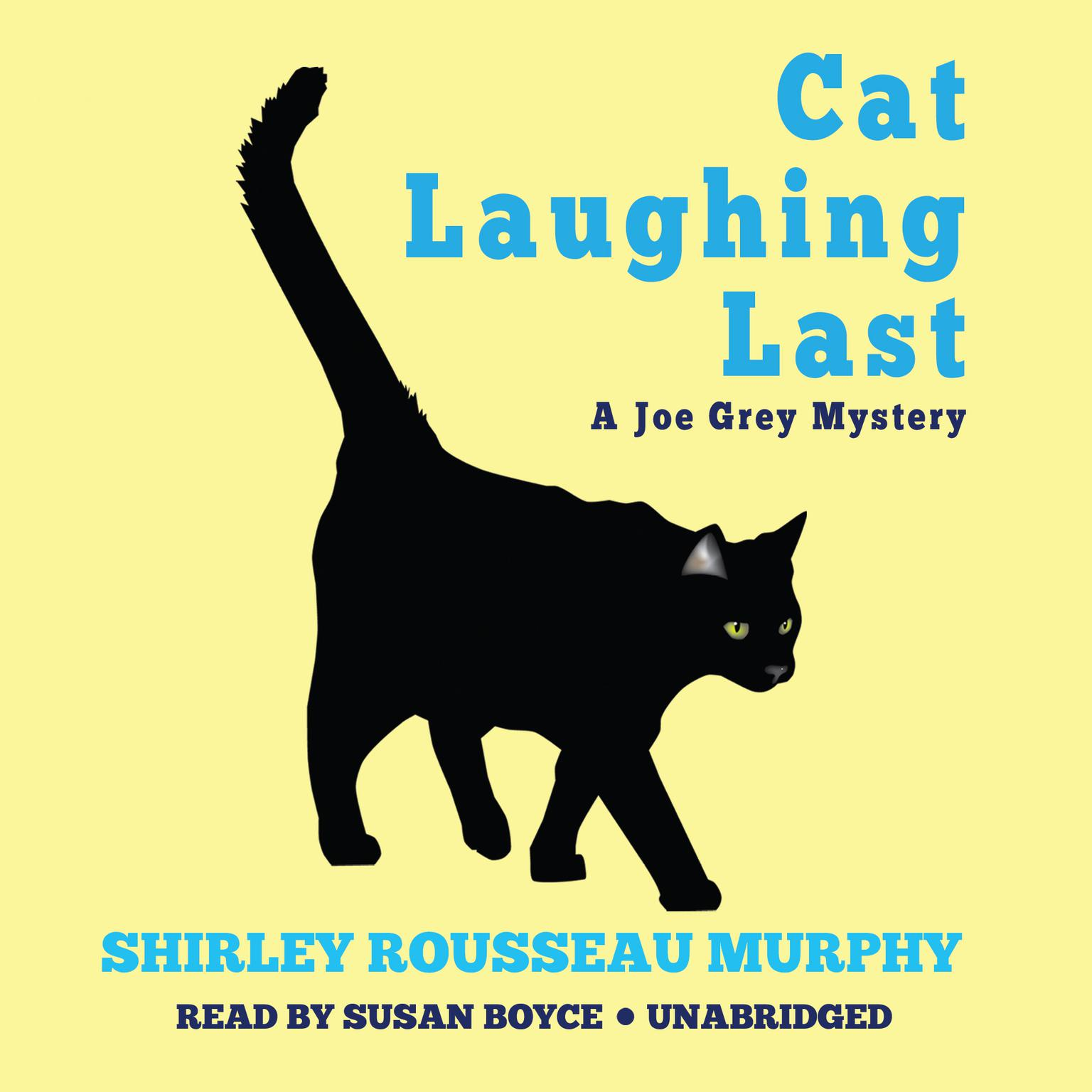 Printable Cat Laughing Last: A Joe Grey Mystery Audiobook Cover Art