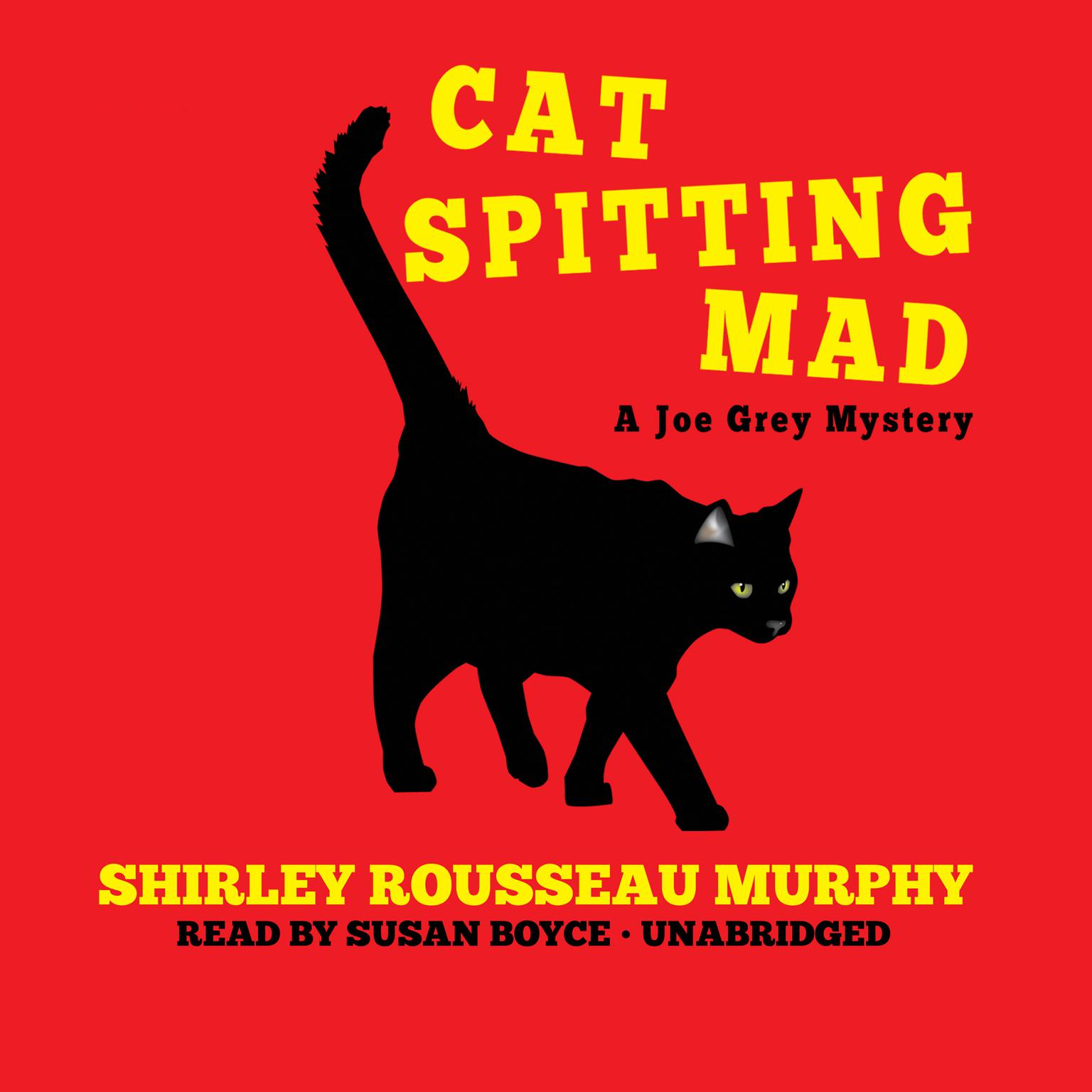 Printable Cat Spitting Mad Audiobook Cover Art