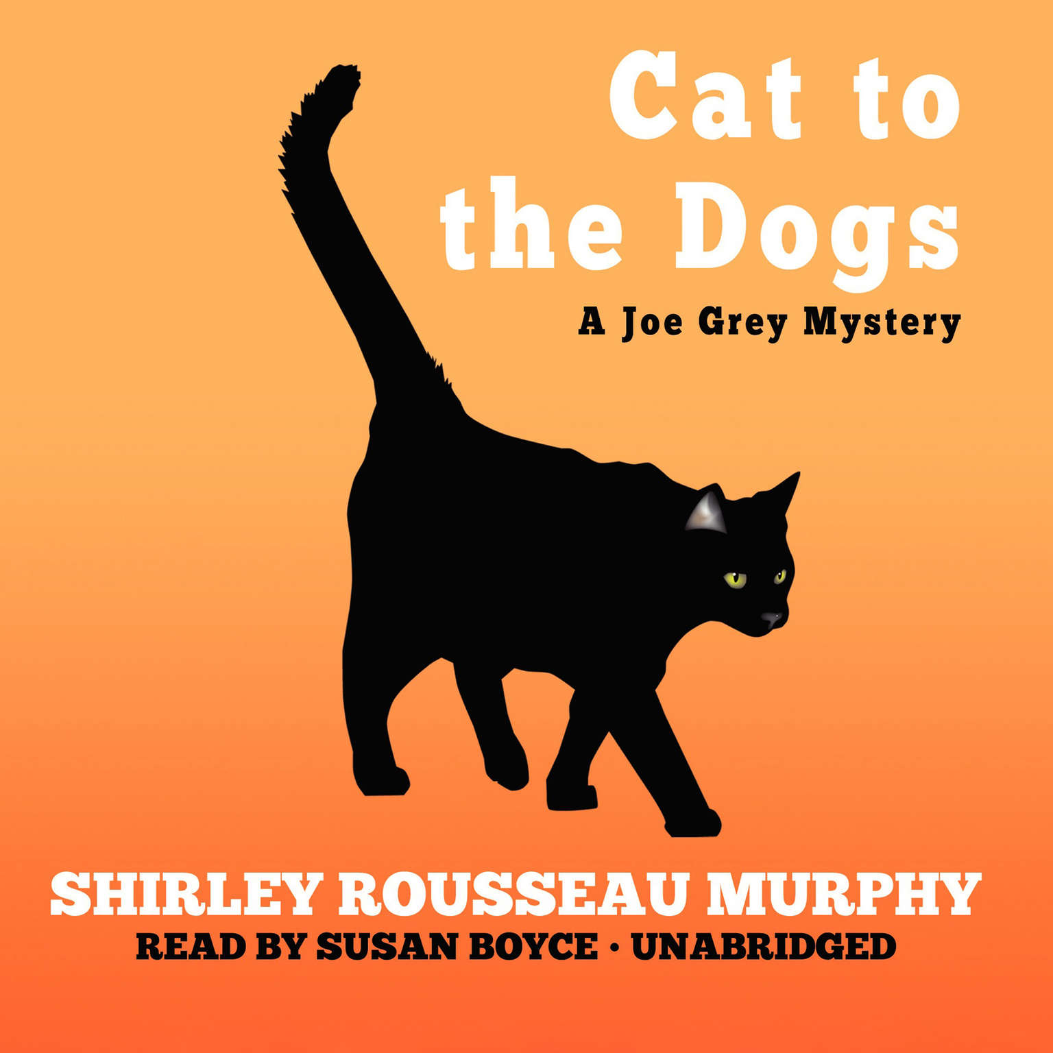 Printable Cat to the Dogs Audiobook Cover Art