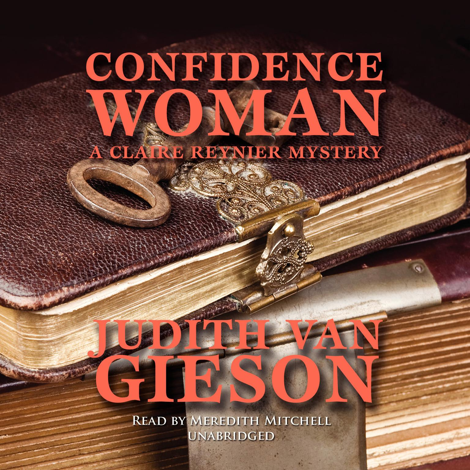 Printable Confidence Woman: A Claire Reynier Mystery Audiobook Cover Art