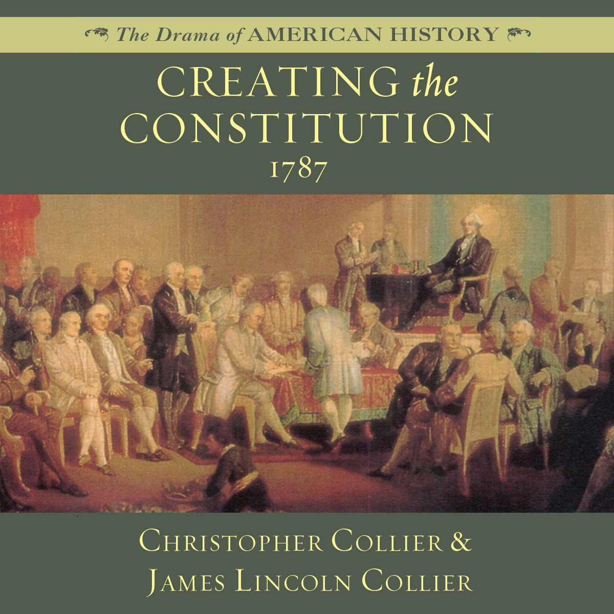 Printable Creating the Constitution: 1787 Audiobook Cover Art