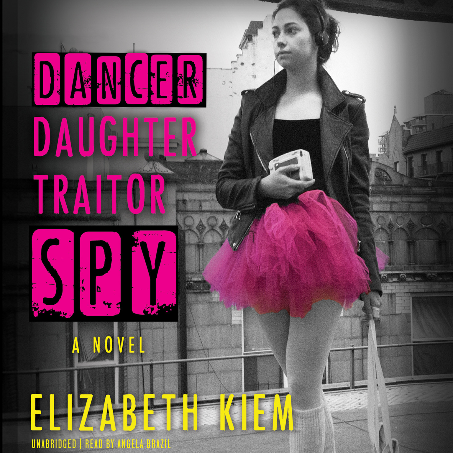 Printable Dancer, Daughter, Traitor, Spy Audiobook Cover Art