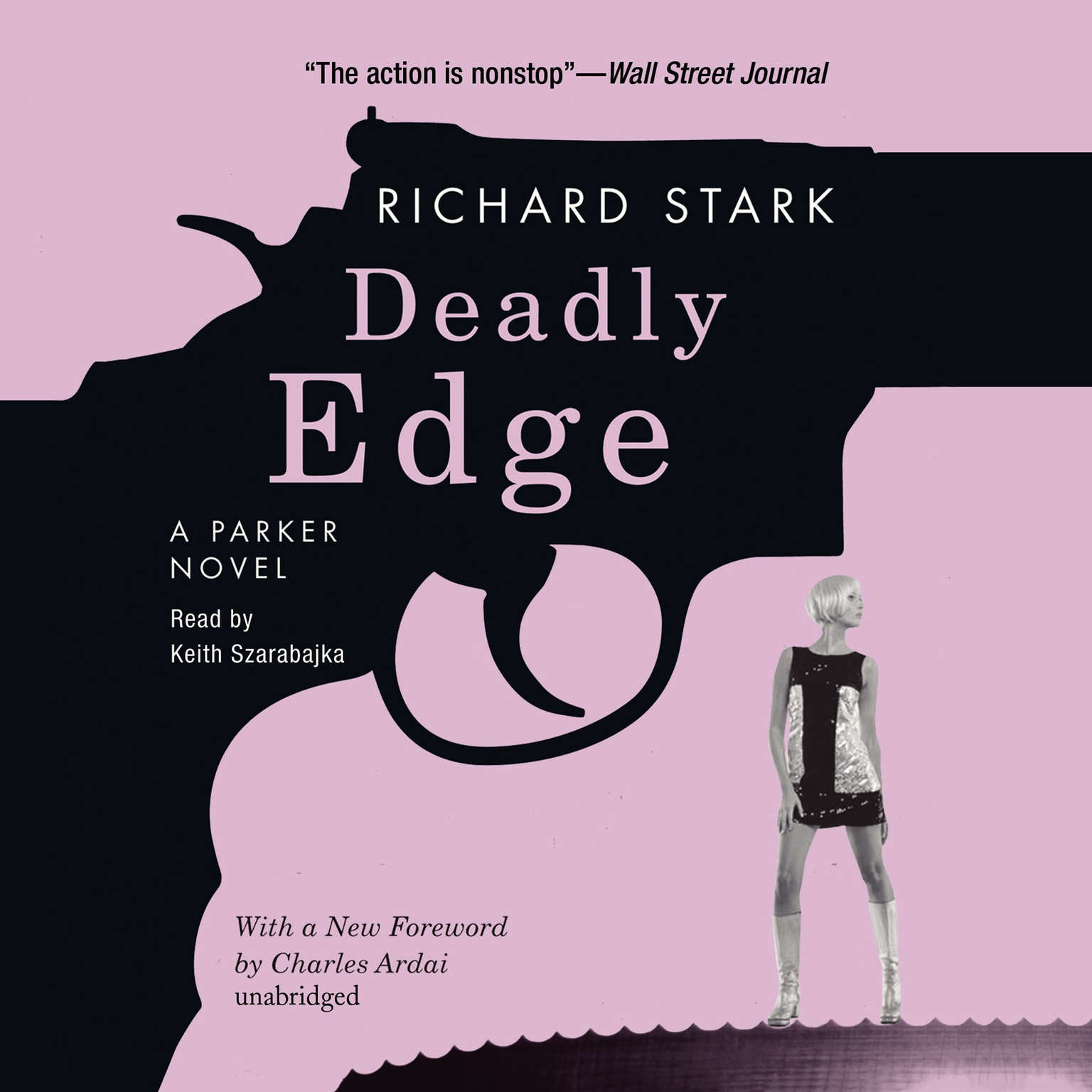 Printable Deadly Edge: A Parker Novel Audiobook Cover Art