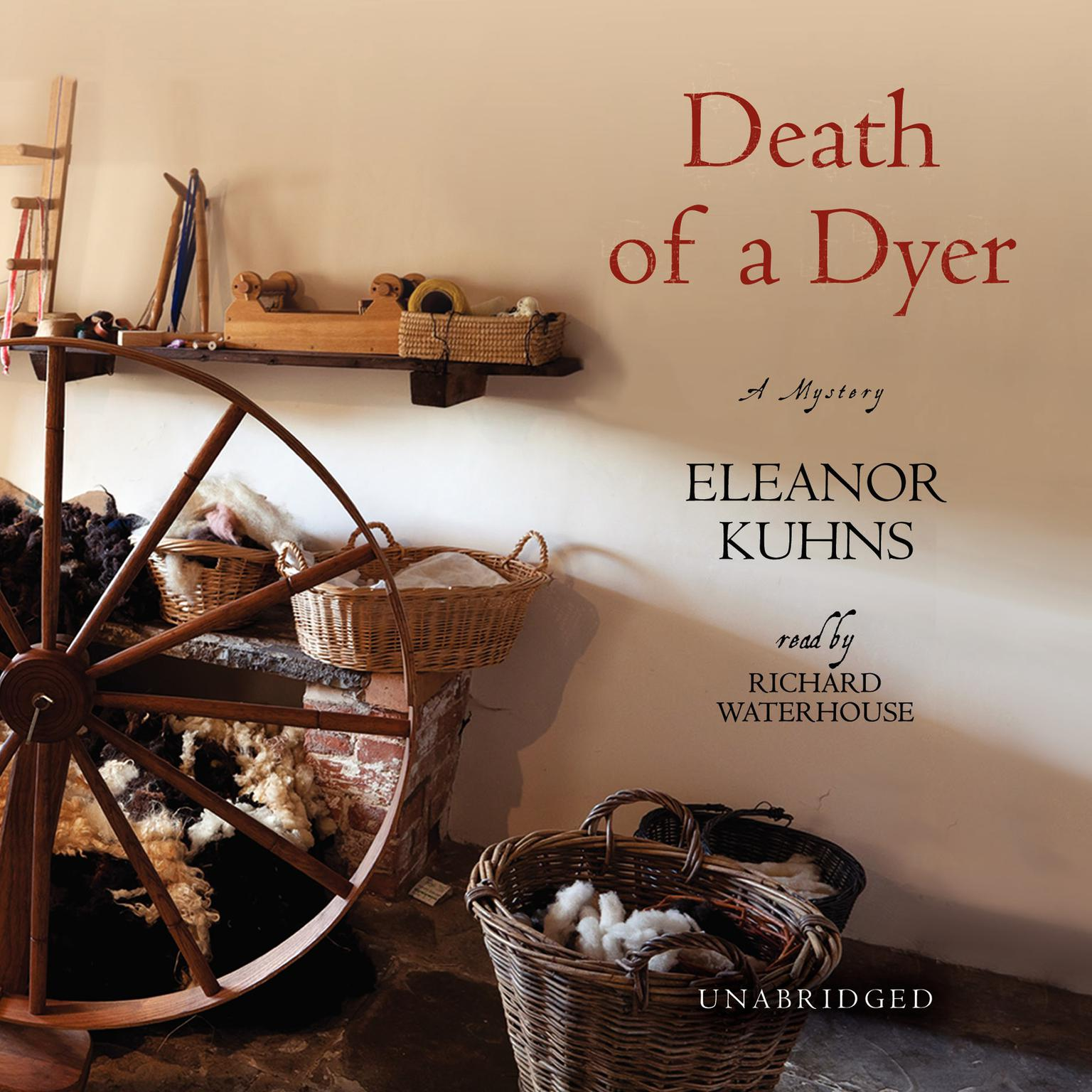 Printable Death of a Dyer Audiobook Cover Art