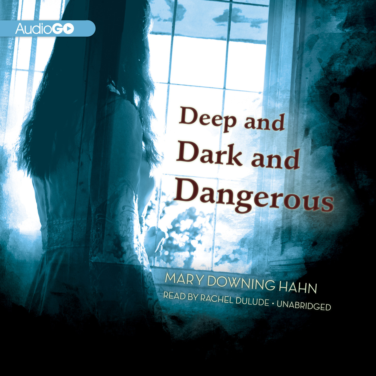 Printable Deep and Dark and Dangerous Audiobook Cover Art