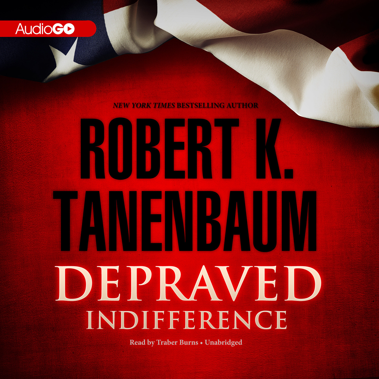 Printable Depraved Indifference Audiobook Cover Art