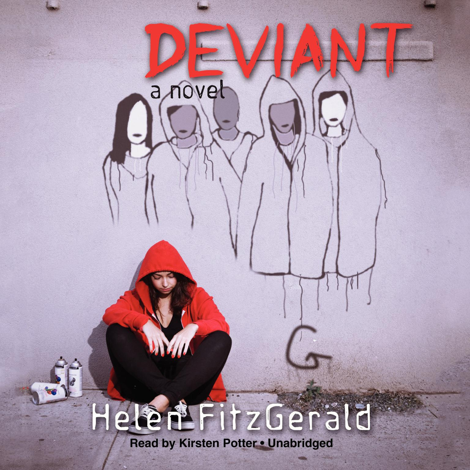 Printable Deviant Audiobook Cover Art
