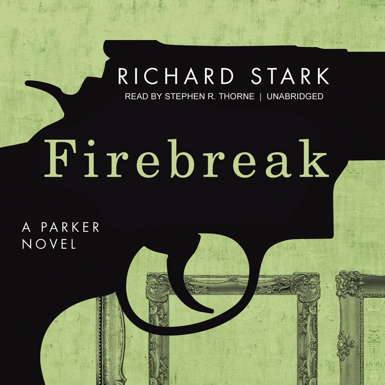 Printable Firebreak Audiobook Cover Art