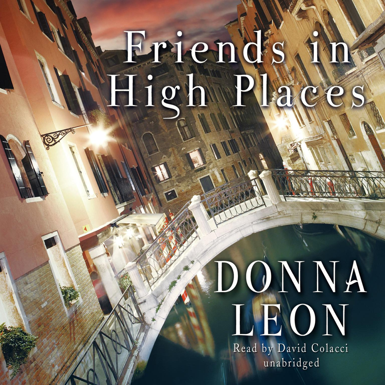 Printable Friends in High Places Audiobook Cover Art