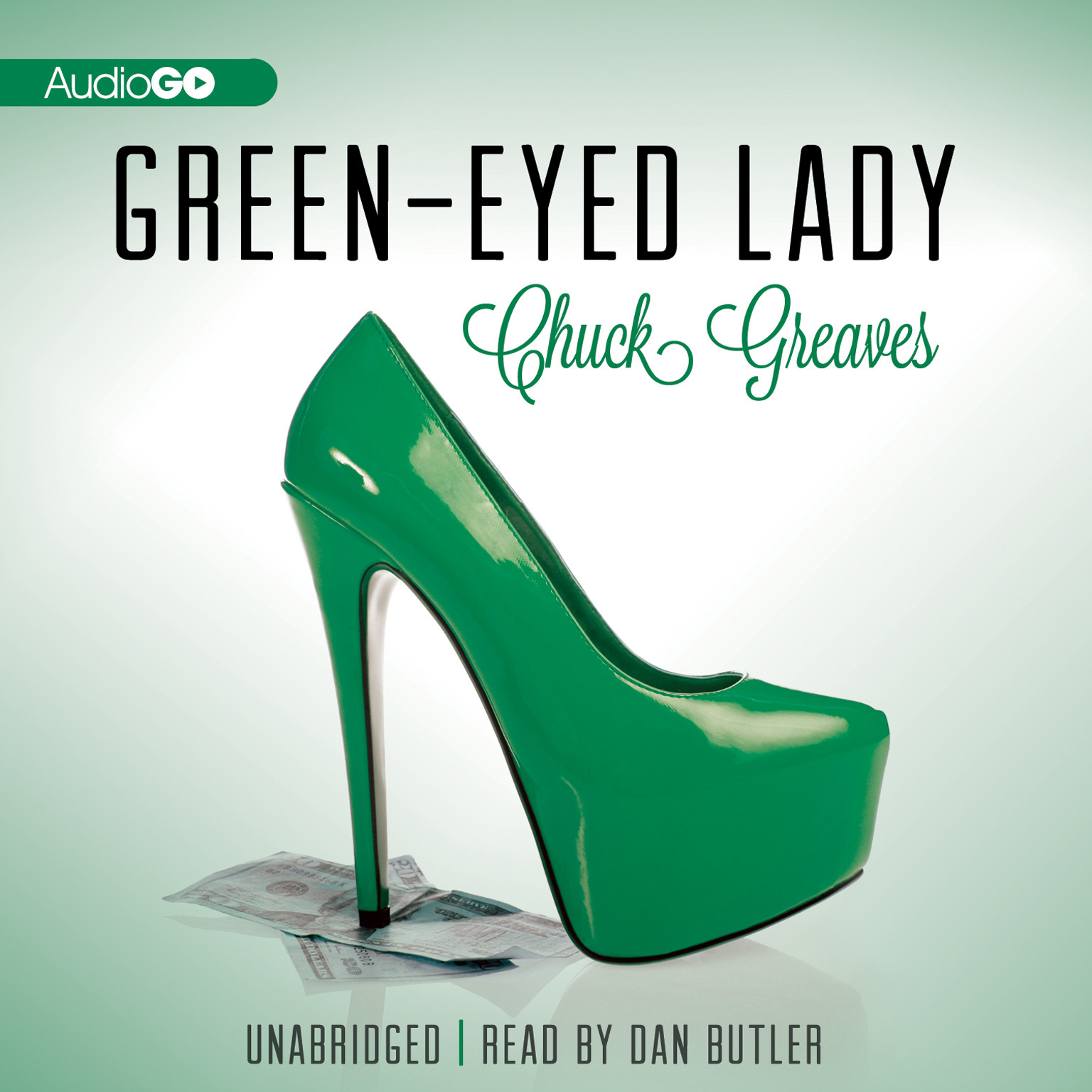 Printable Green-Eyed Lady Audiobook Cover Art