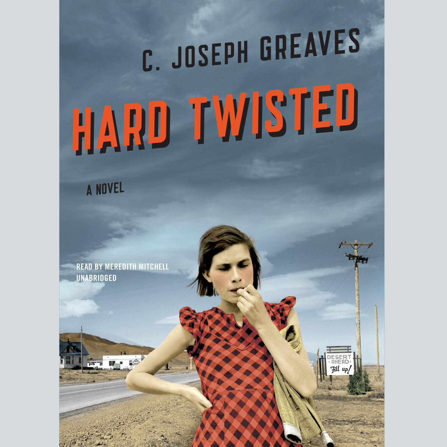 Printable Hard Twisted Audiobook Cover Art