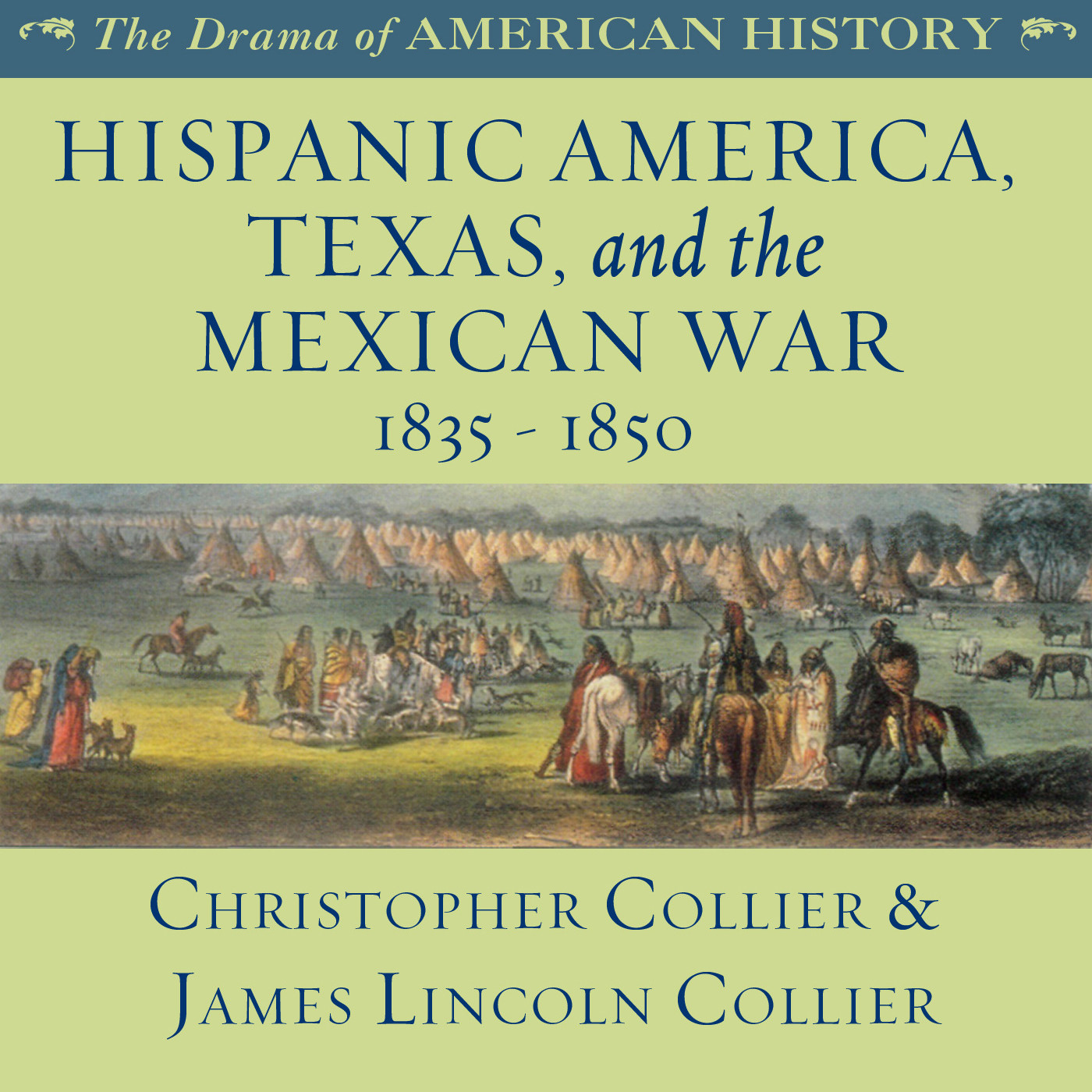 Printable Hispanic America, Texas, and the Mexican War Audiobook Cover Art
