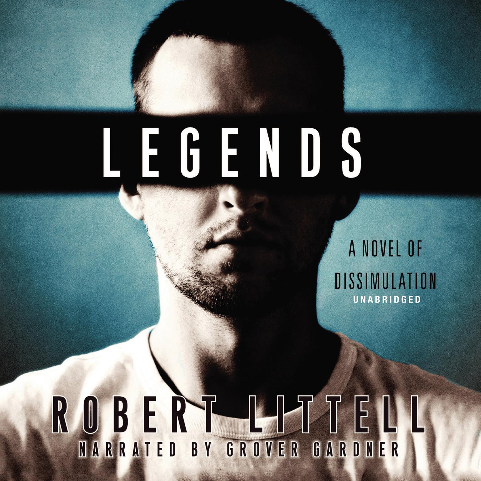 Printable Legends: A Novel of Dissimulation Audiobook Cover Art