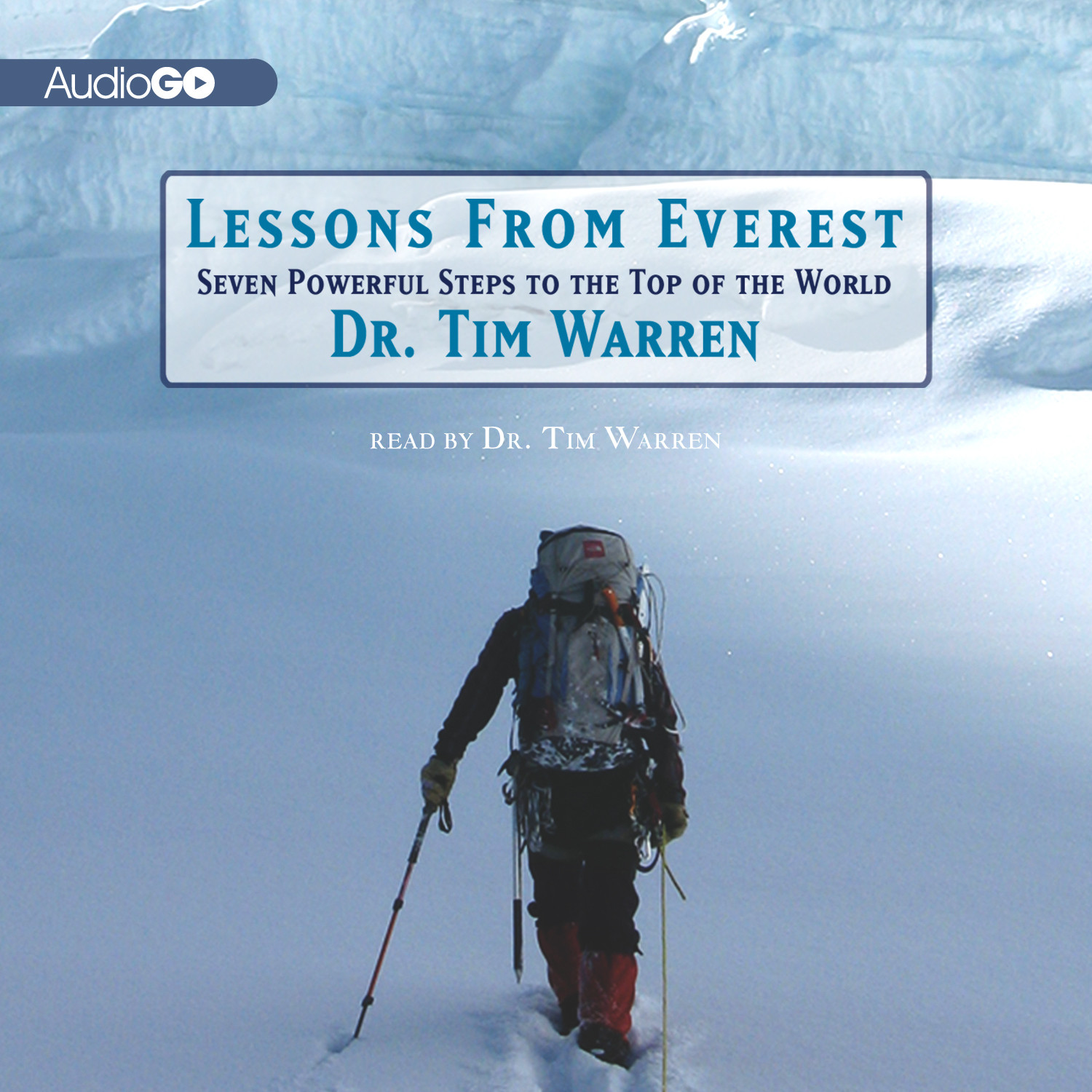 Printable Lessons from Everest: Seven Powerful Steps to the Top of the World Audiobook Cover Art