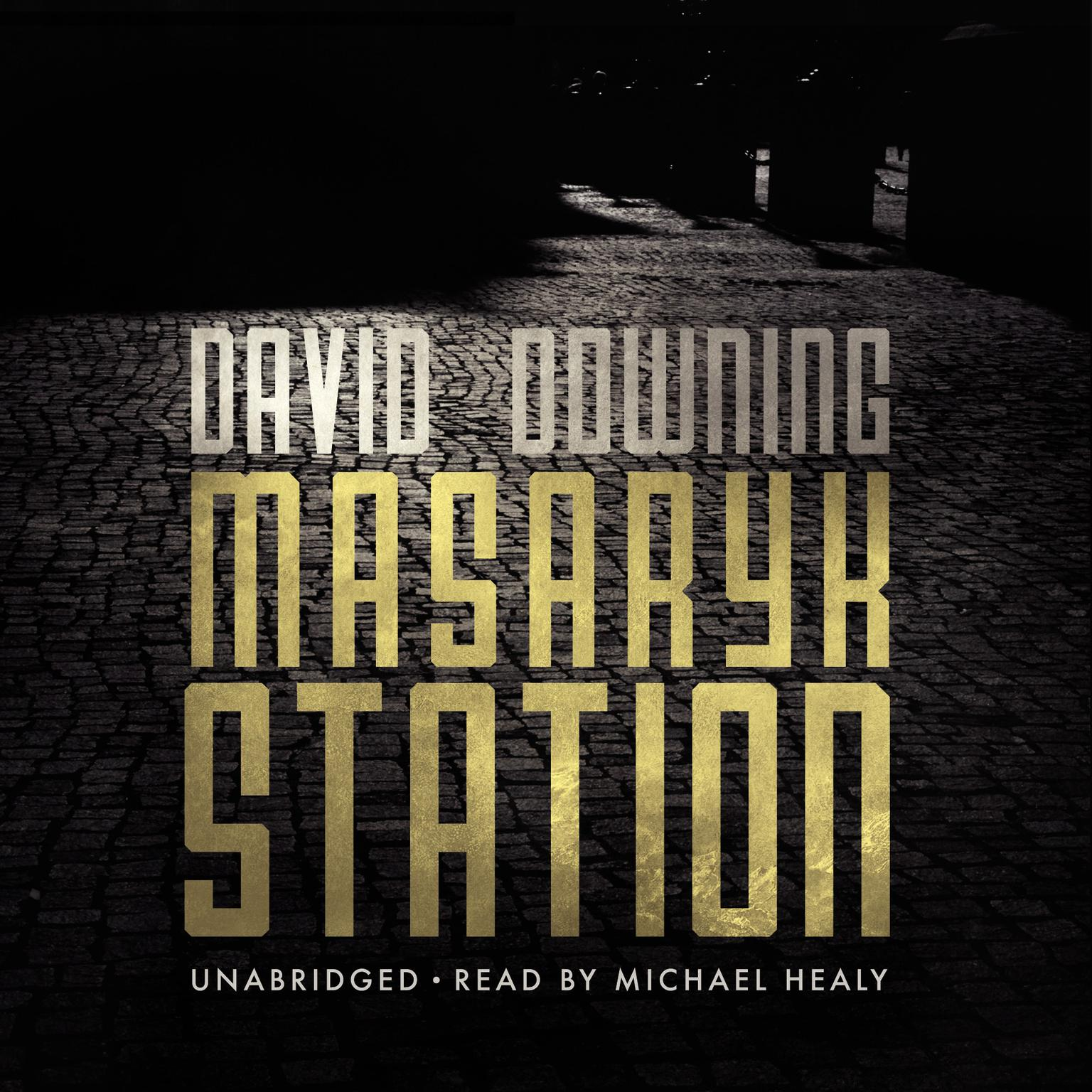 Printable Masaryk Station Audiobook Cover Art