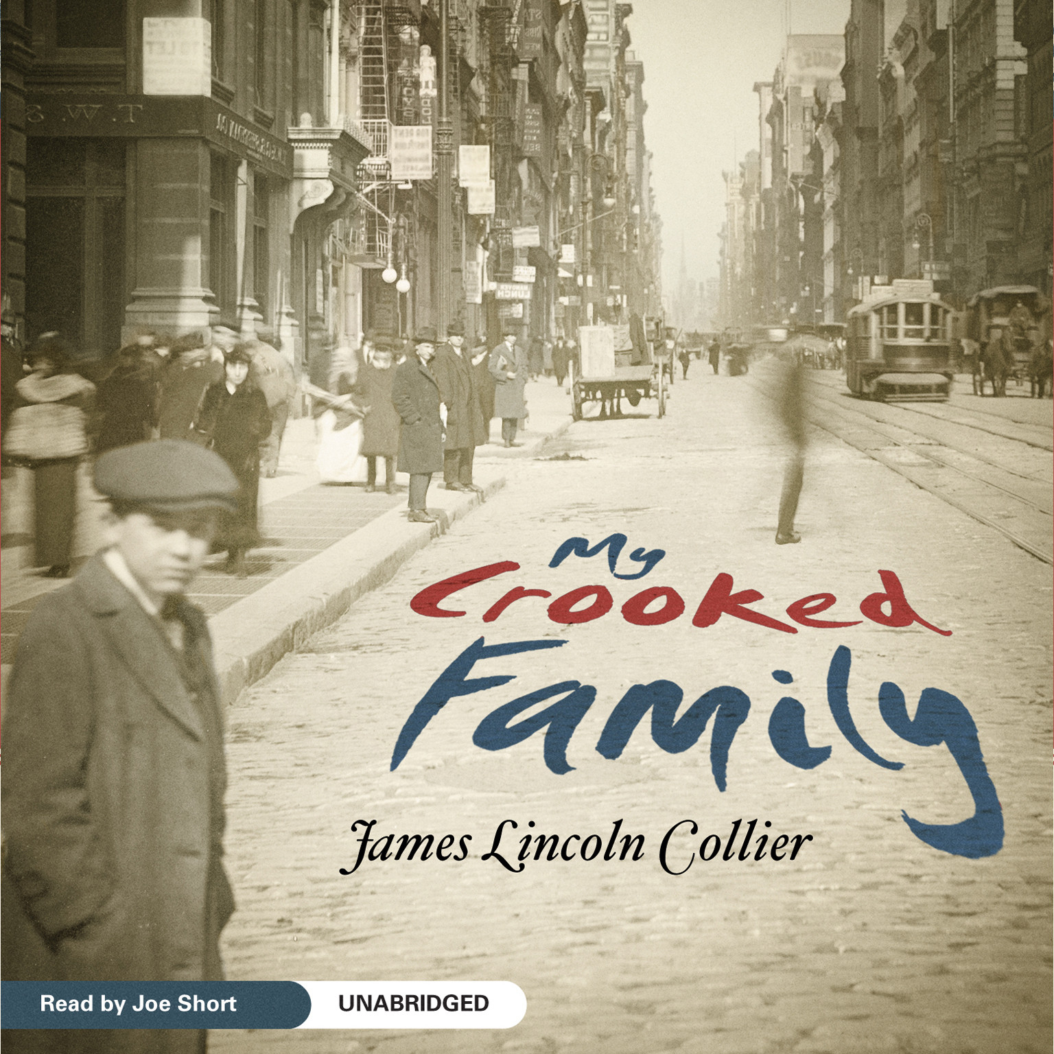 Printable My Crooked Family Audiobook Cover Art