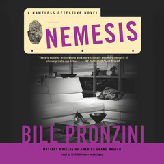 Nemesis: A Nameless Detective Novel Audiobook, by Bill Pronzini