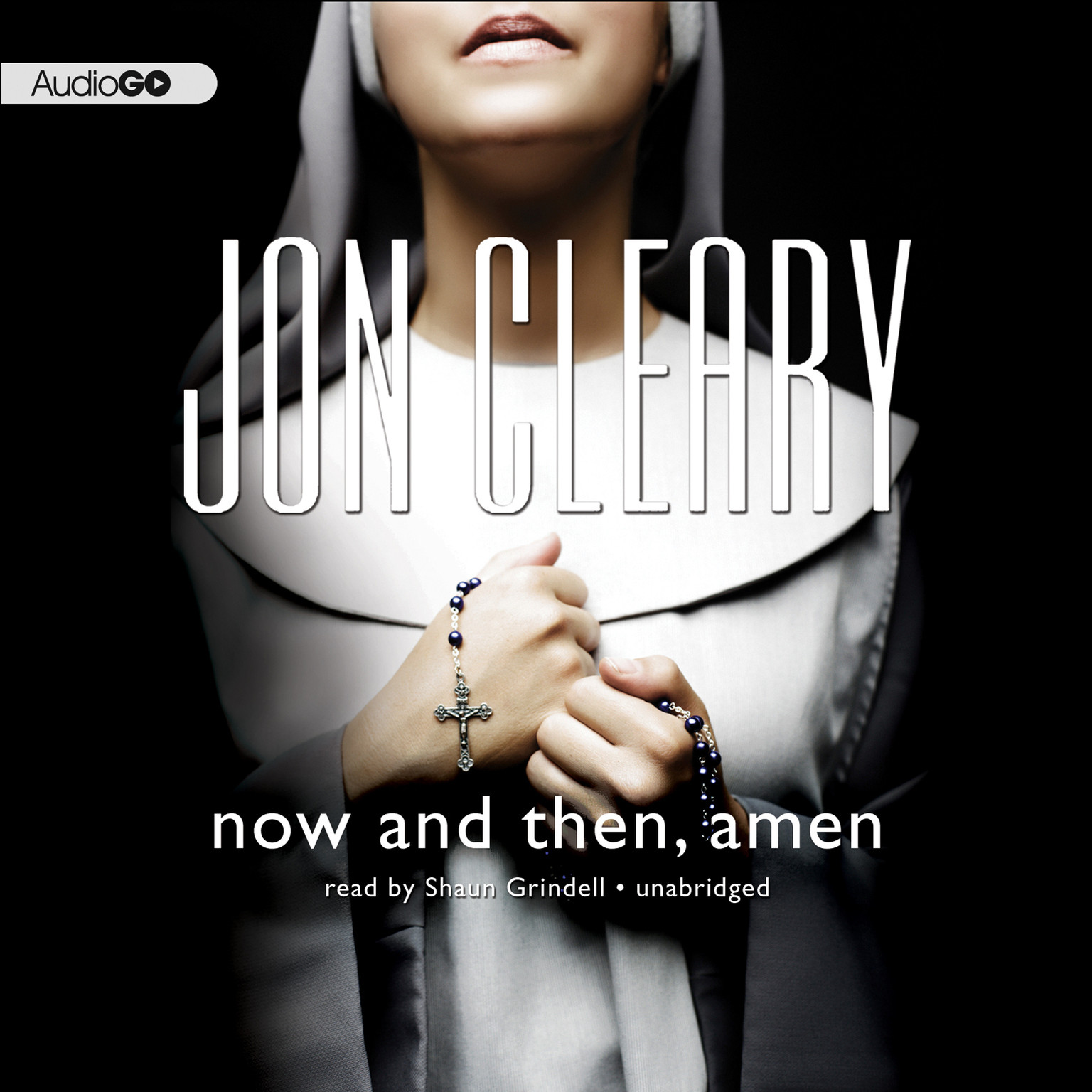 Printable Now and Then, Amen Audiobook Cover Art