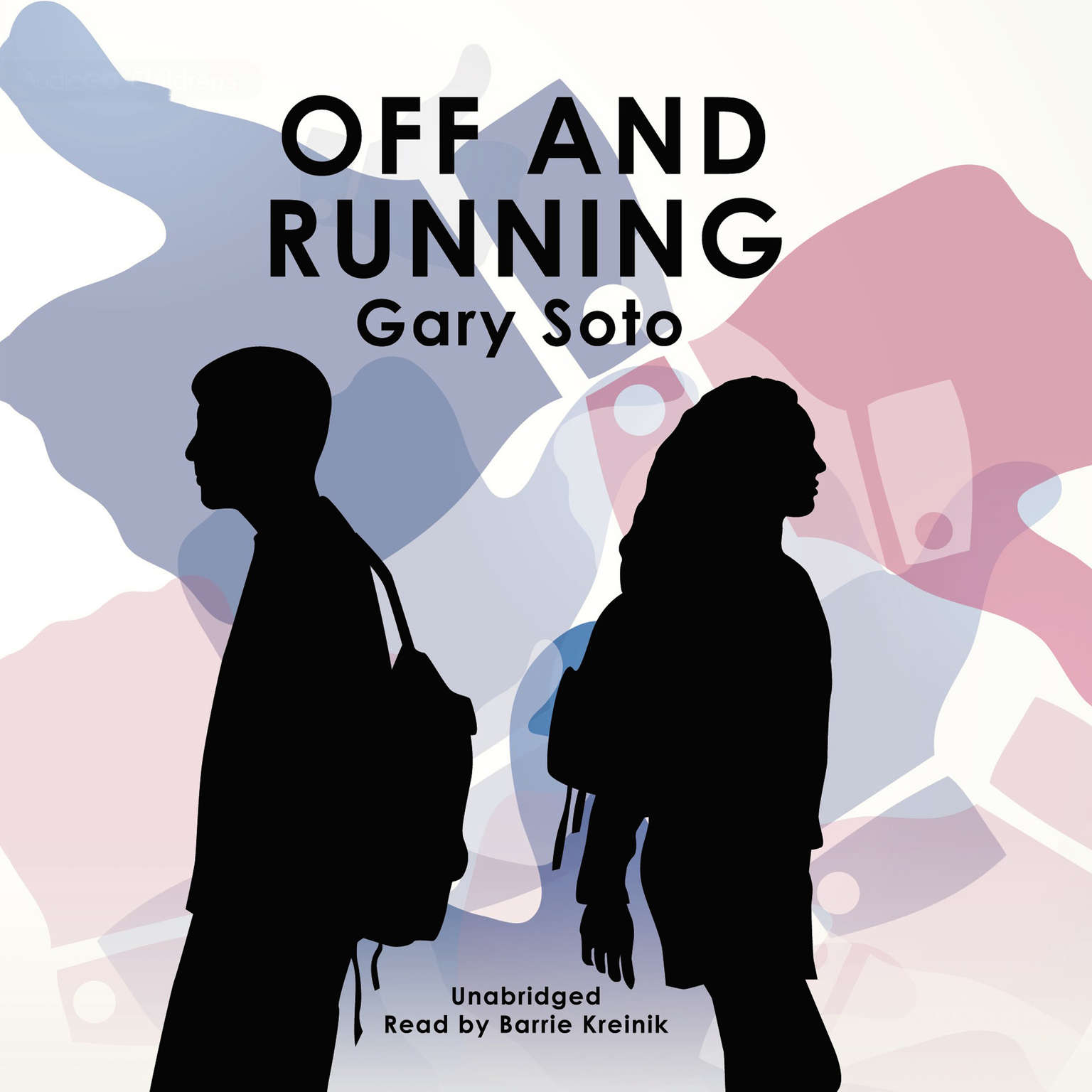 Printable Off and Running Audiobook Cover Art