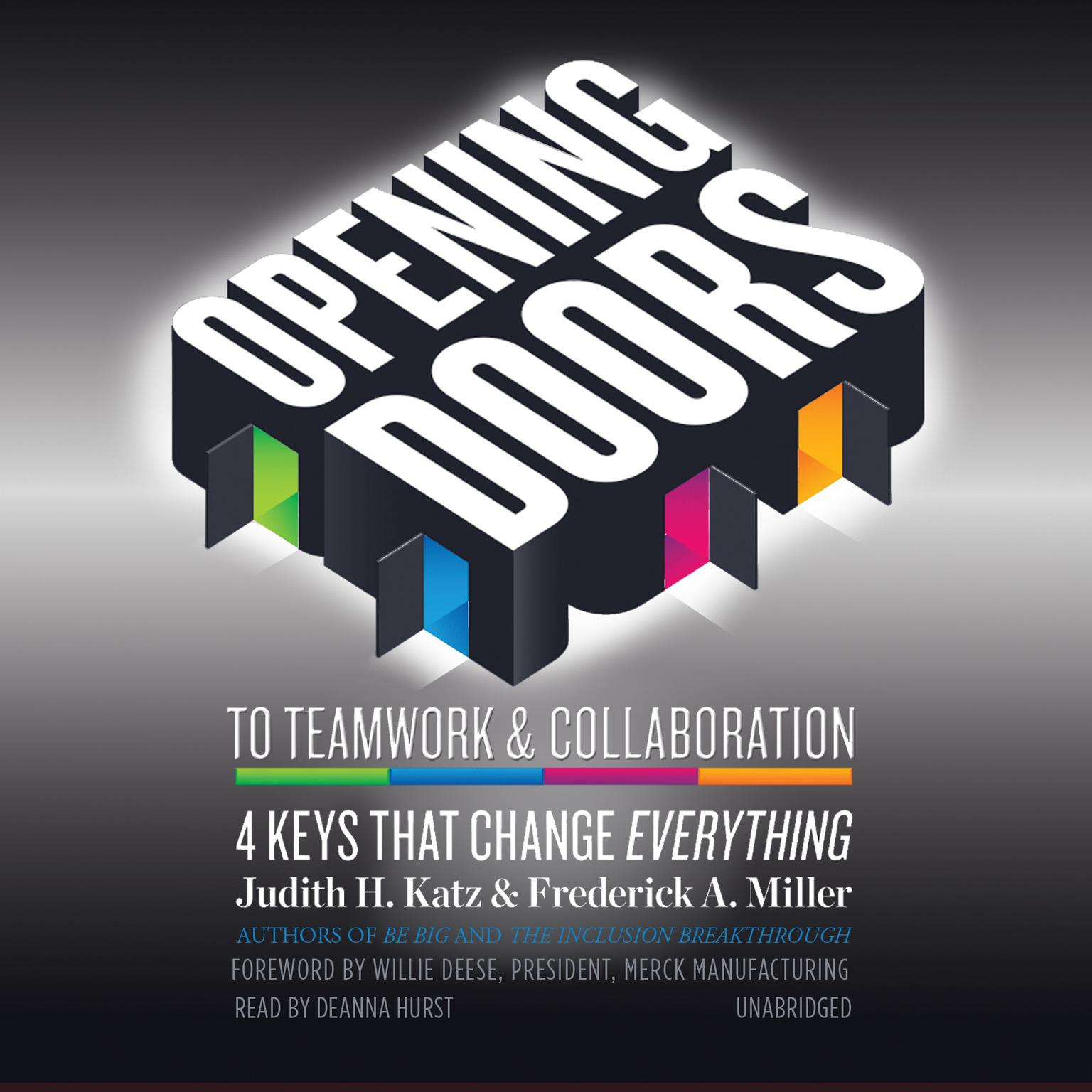 Printable Opening Doors to Teamwork and Collaboration: 4 Keys That Change Everything Audiobook Cover Art