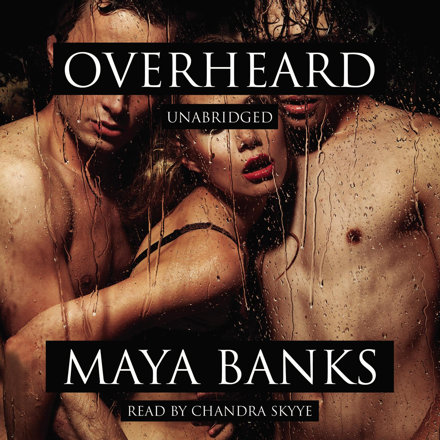 Printable Overheard Audiobook Cover Art