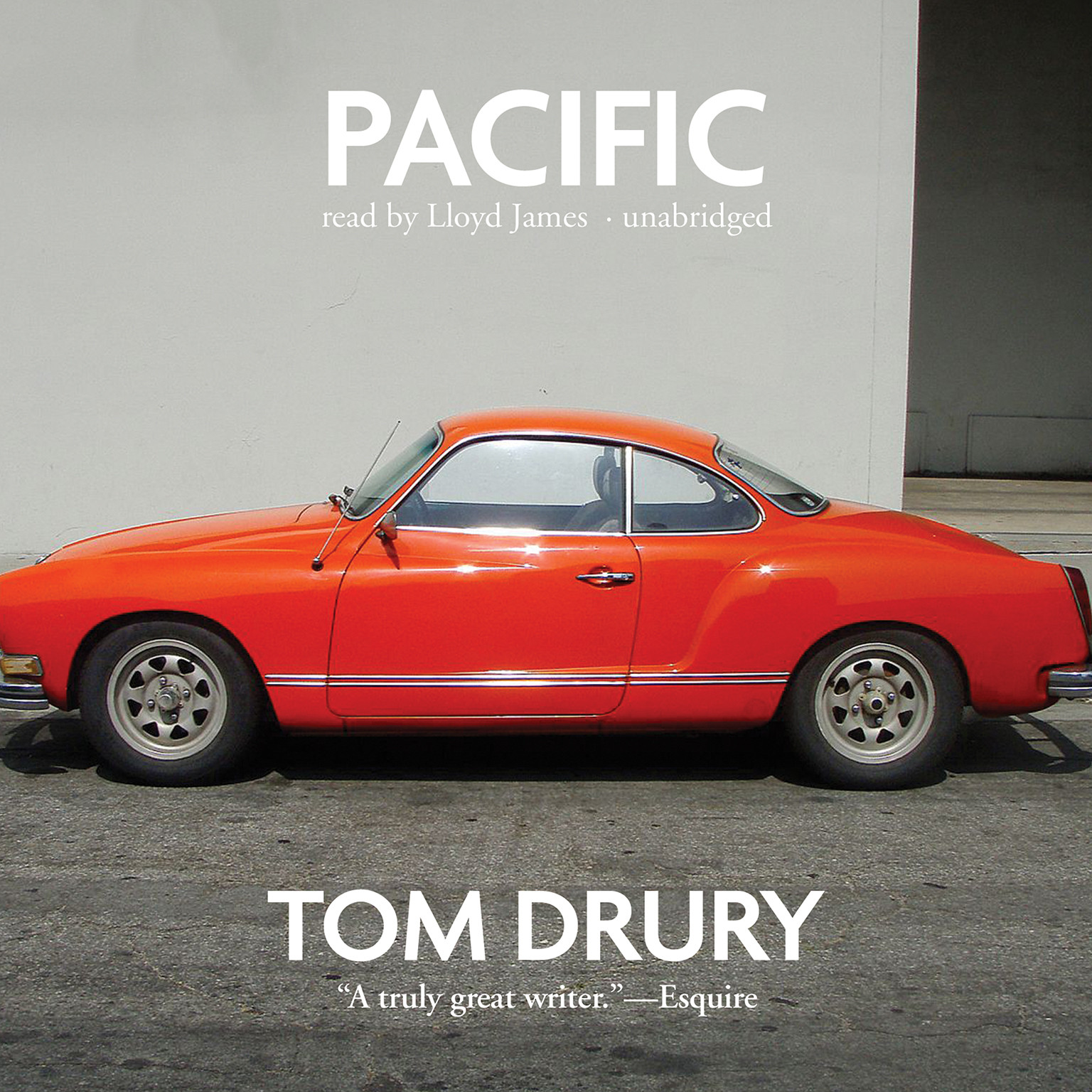 Printable Pacific: A Novel Audiobook Cover Art