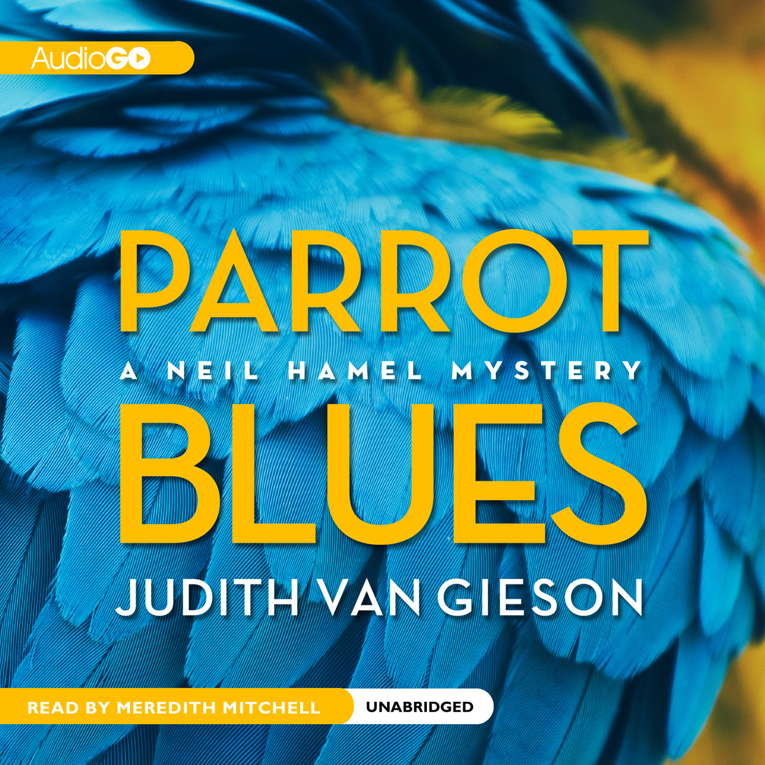 Printable Parrot Blues Audiobook Cover Art