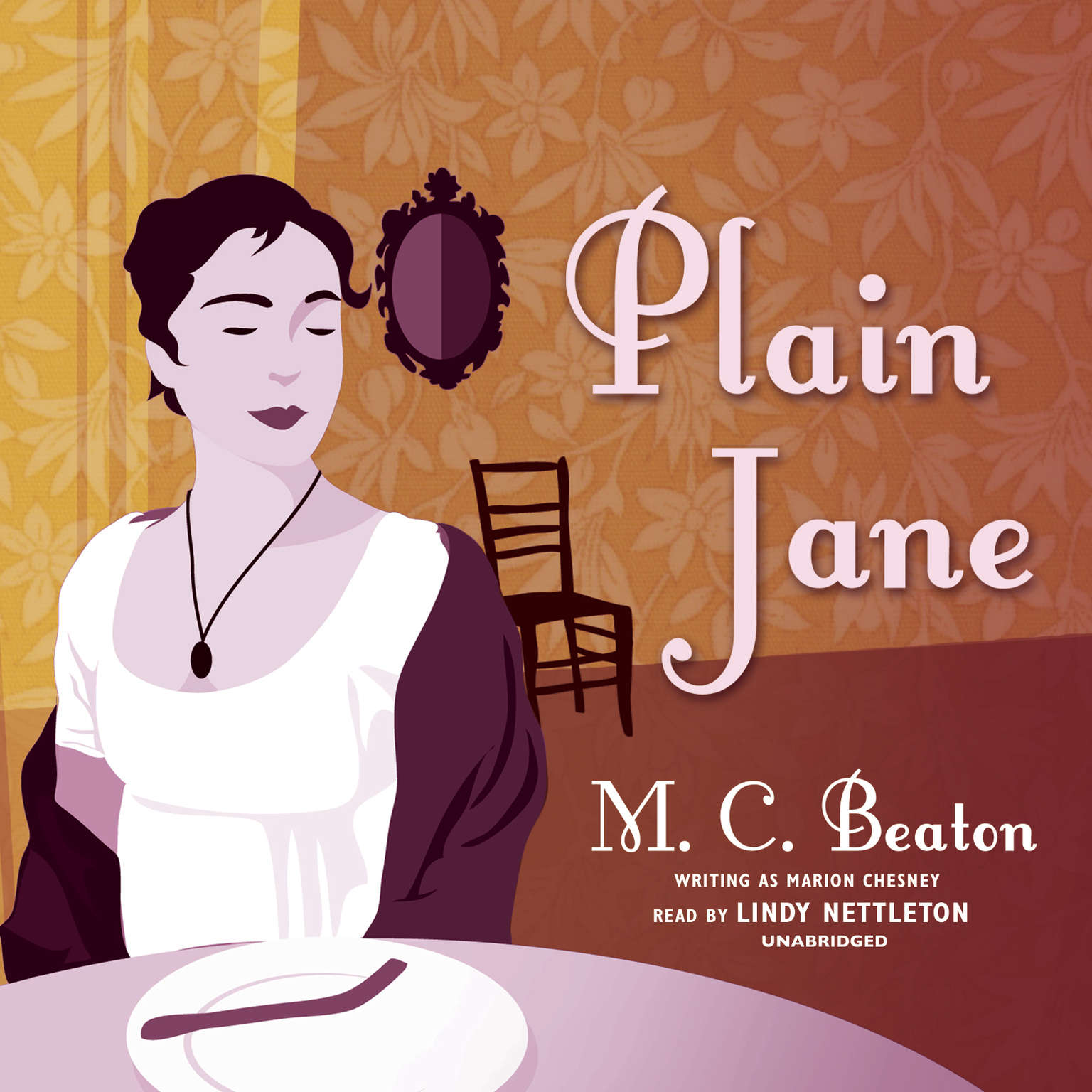 Printable Plain Jane Audiobook Cover Art
