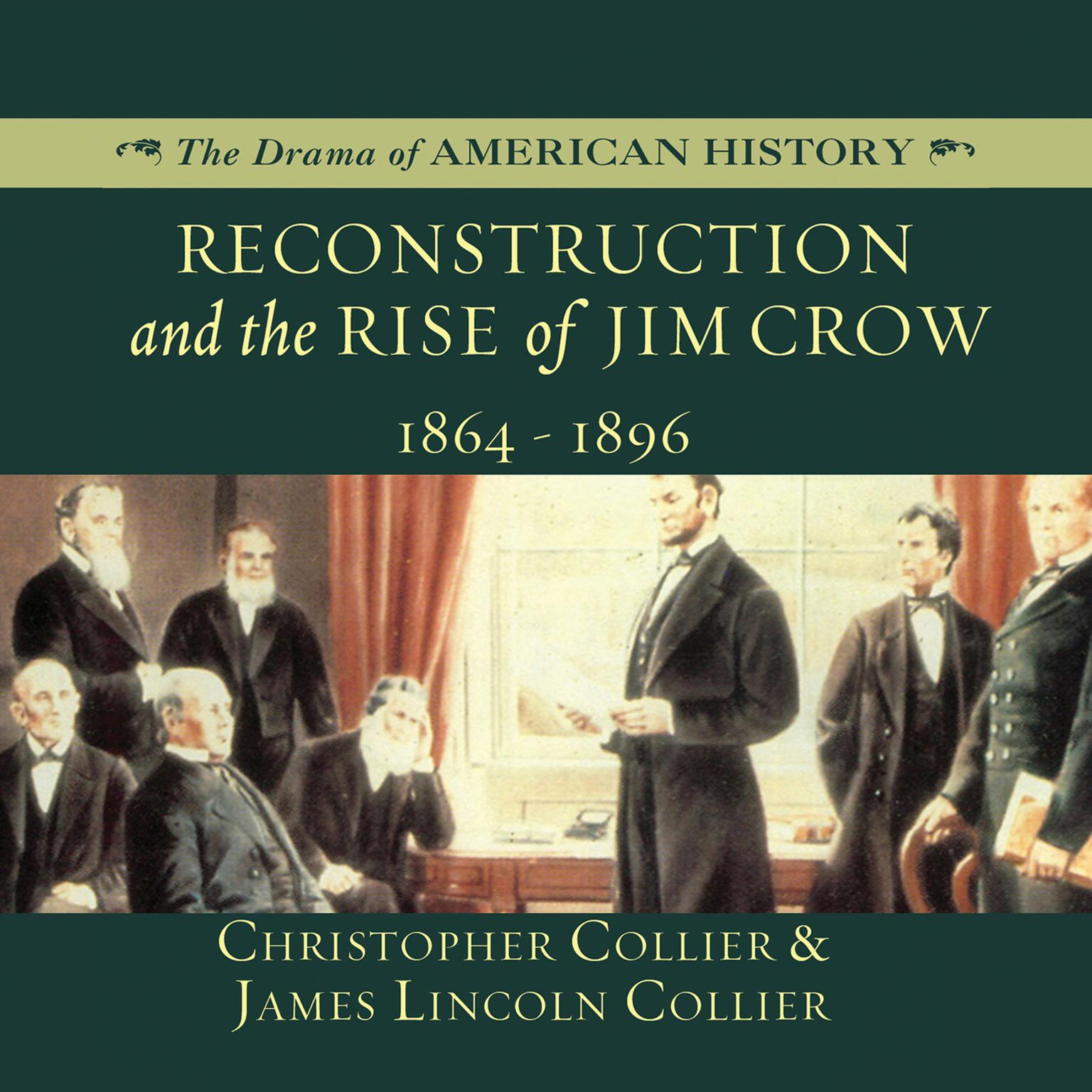 Printable Reconstruction and the Rise of Jim Crow: 1864–1896 Audiobook Cover Art