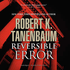 Reversible Error Audiobook, by Robert K. Tanenbaum
