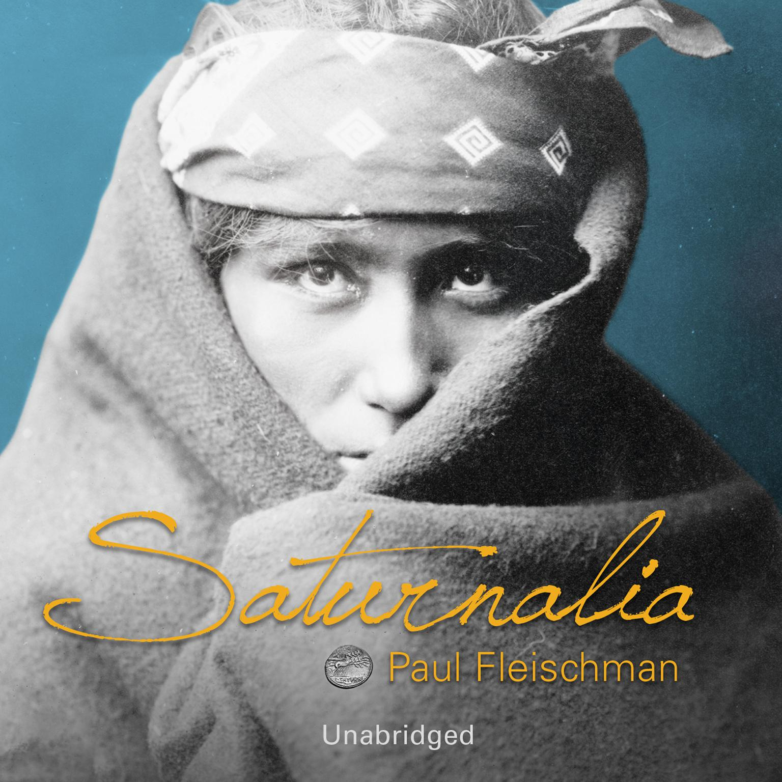 Printable Saturnalia Audiobook Cover Art