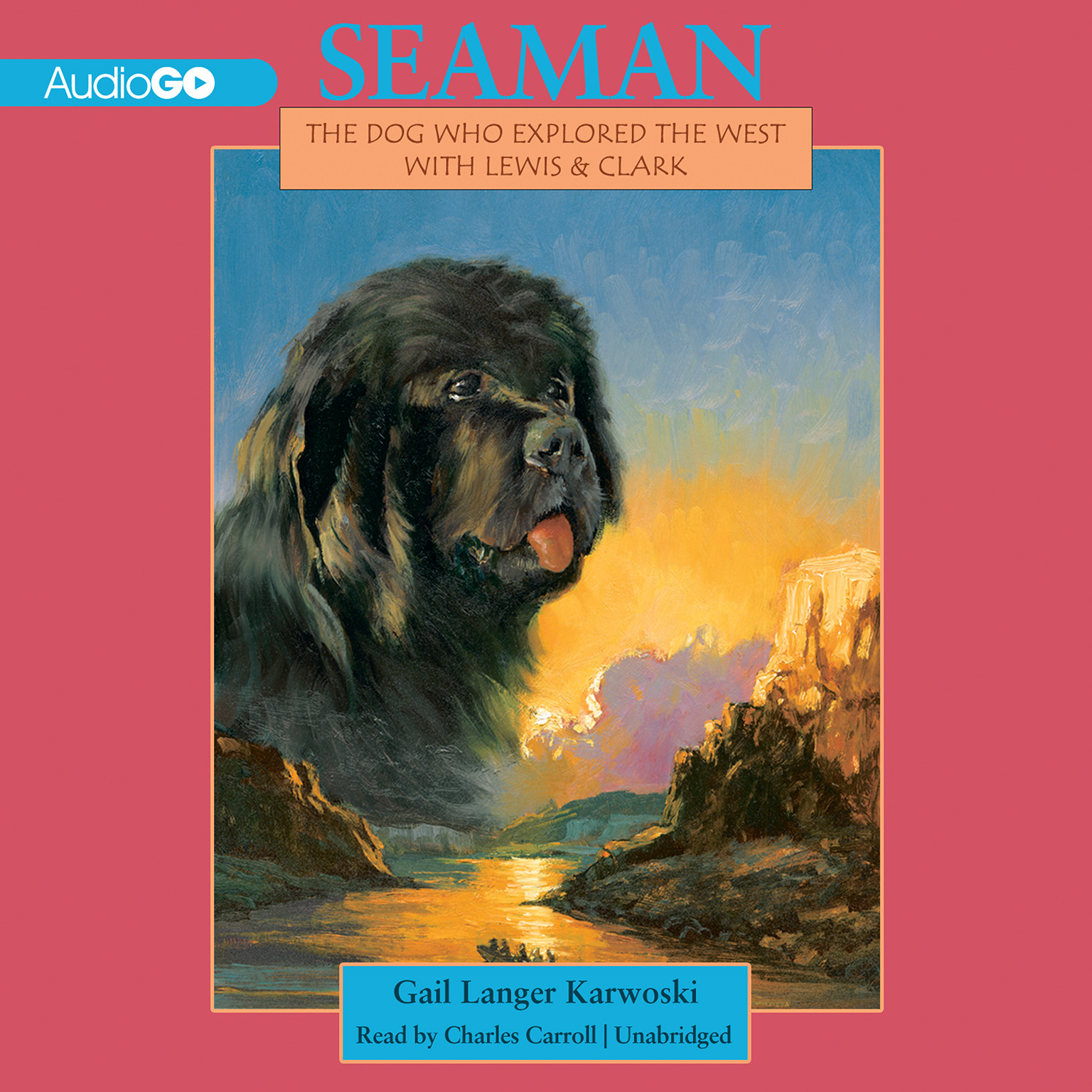 Printable Seaman: The Dog Who Explored the West with Lewis and Clark Audiobook Cover Art