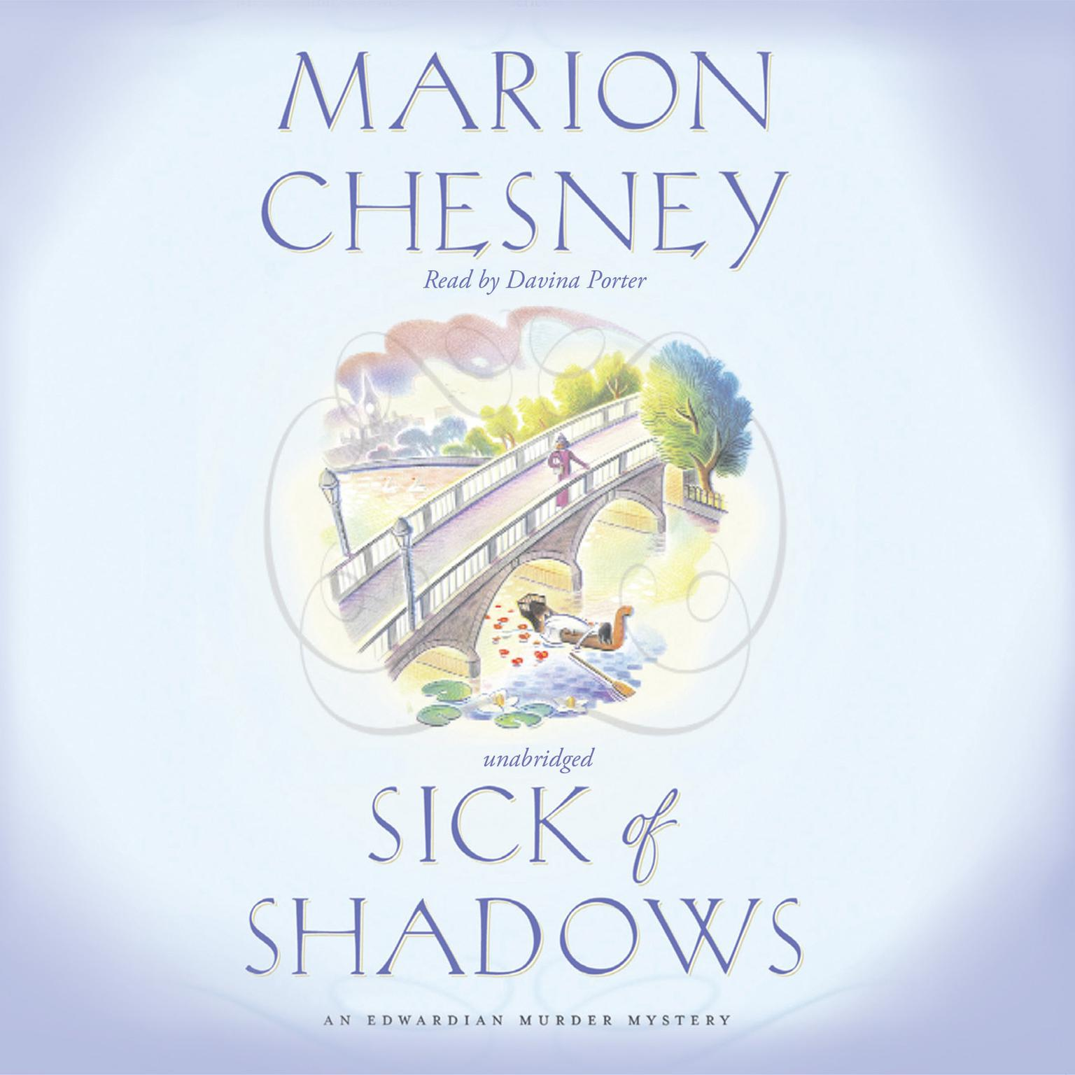 Printable Sick of Shadows Audiobook Cover Art