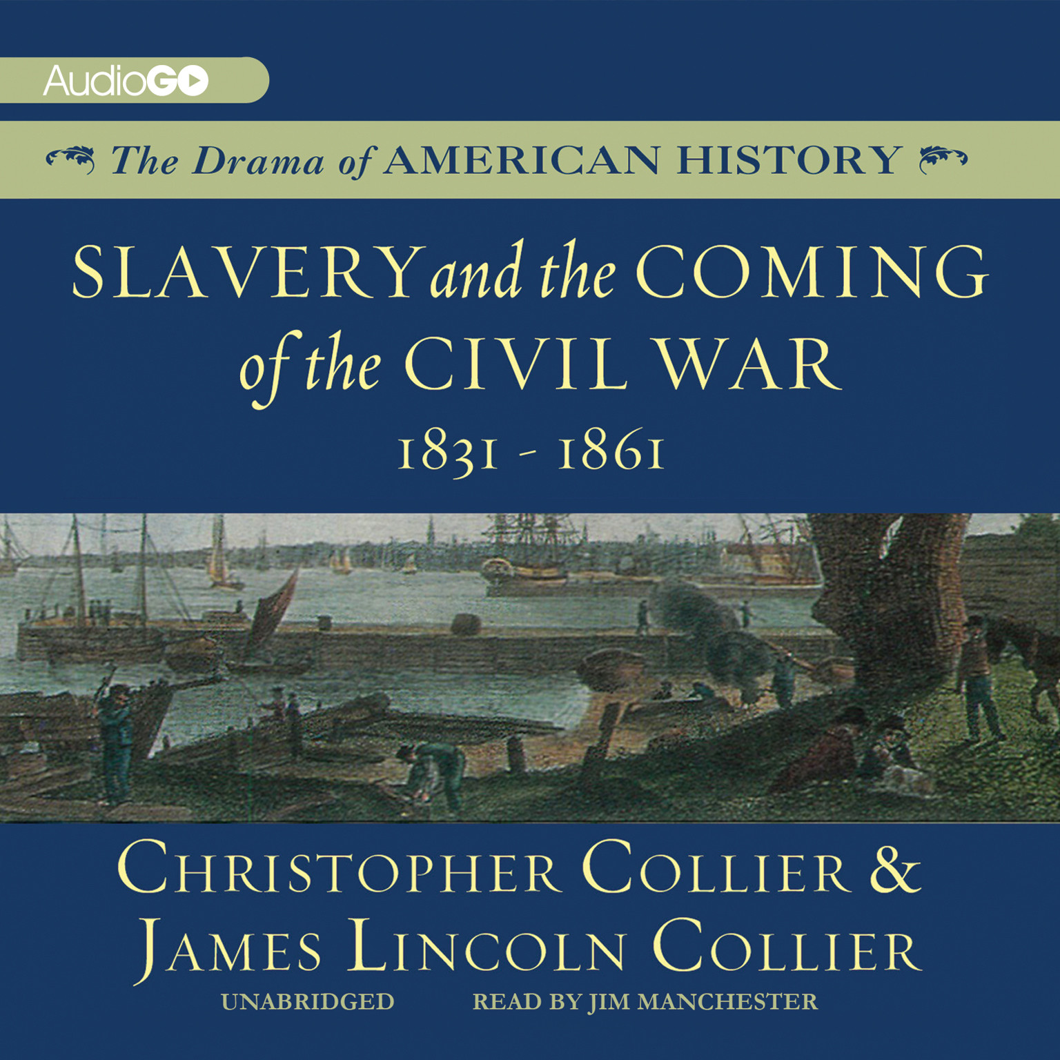 Printable Slavery and the Coming of the Civil War: 1831–1861 Audiobook Cover Art