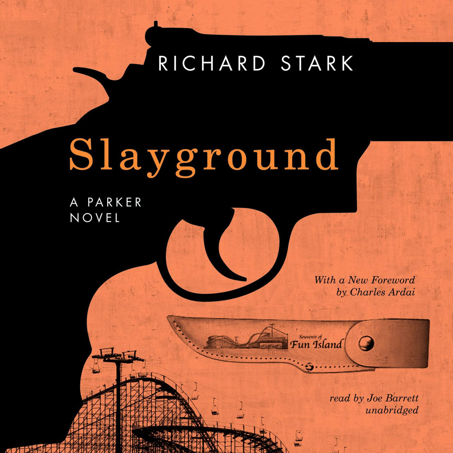 Printable Slayground Audiobook Cover Art