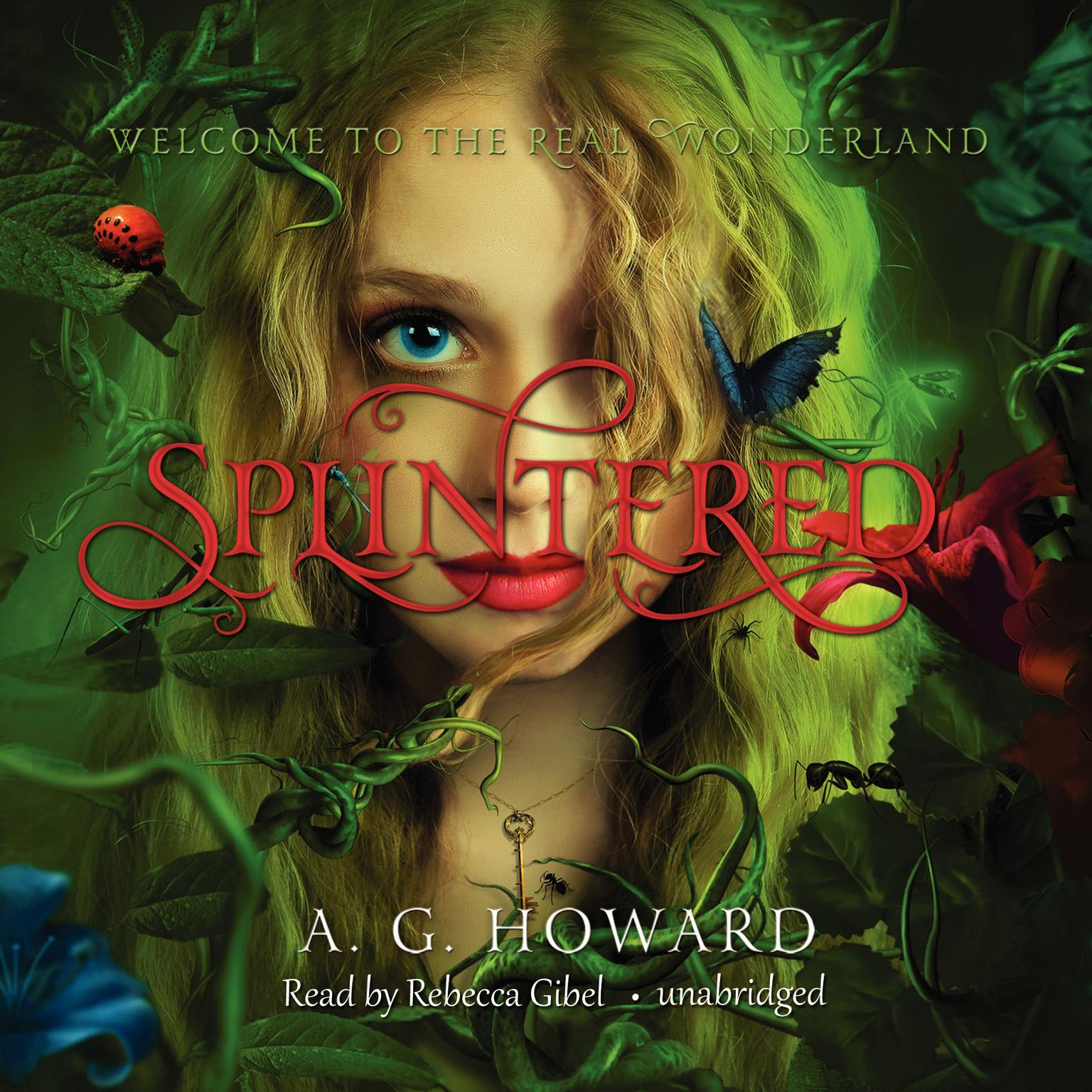 Printable Splintered Audiobook Cover Art