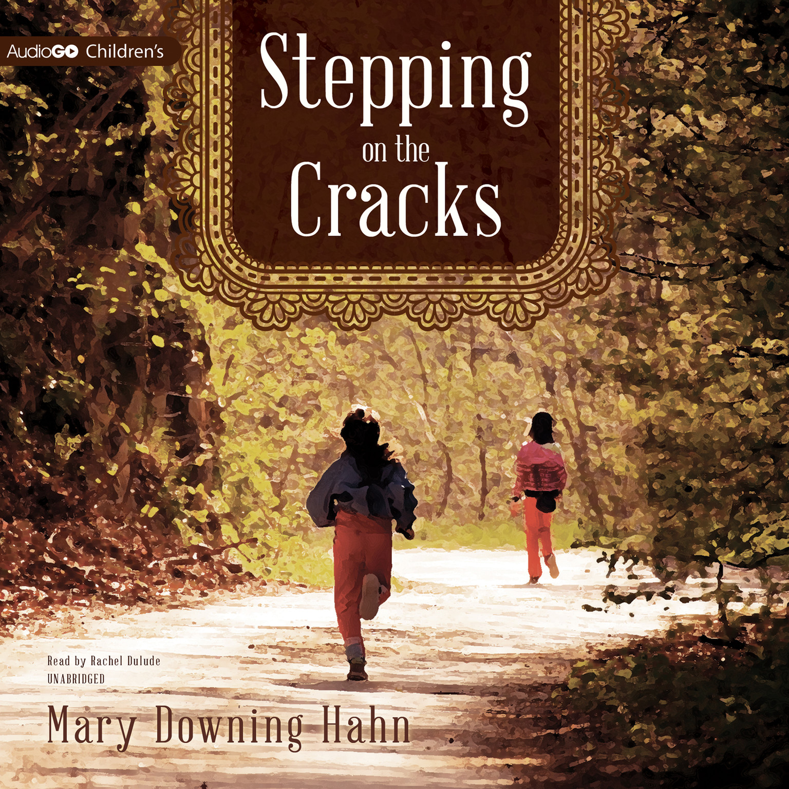 Printable Stepping on the Cracks Audiobook Cover Art