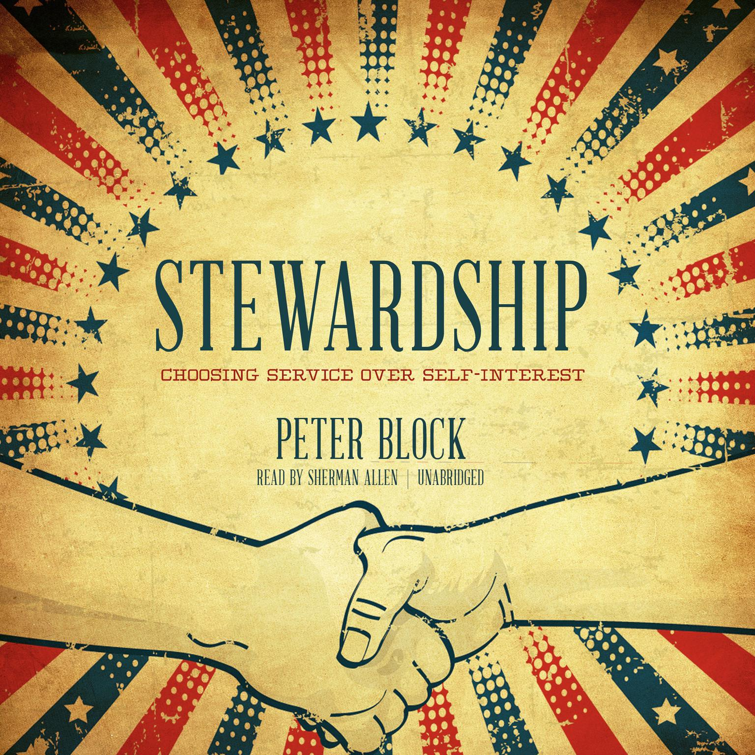 Printable Stewardship: Choosing Service over Self-Interest Audiobook Cover Art