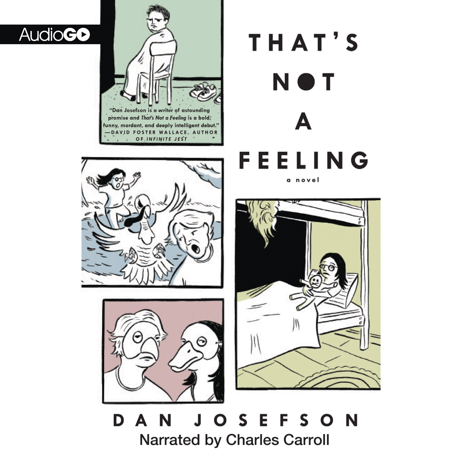 Printable That's Not a Feeling Audiobook Cover Art